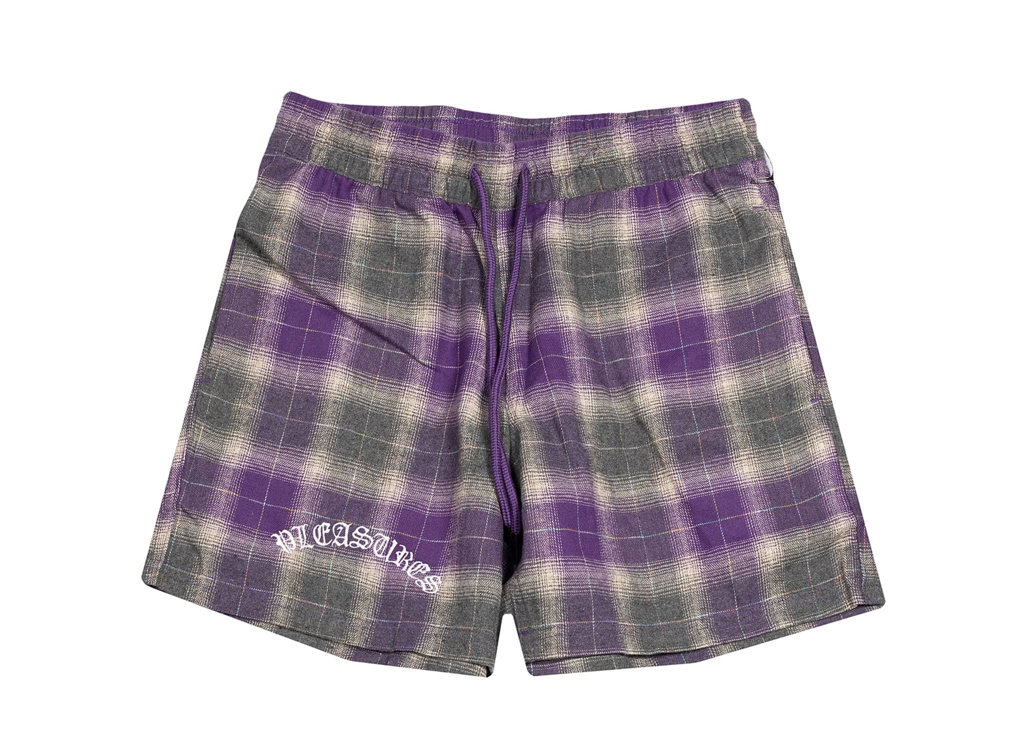PLEASURES SHADOW PLAID SHORTS