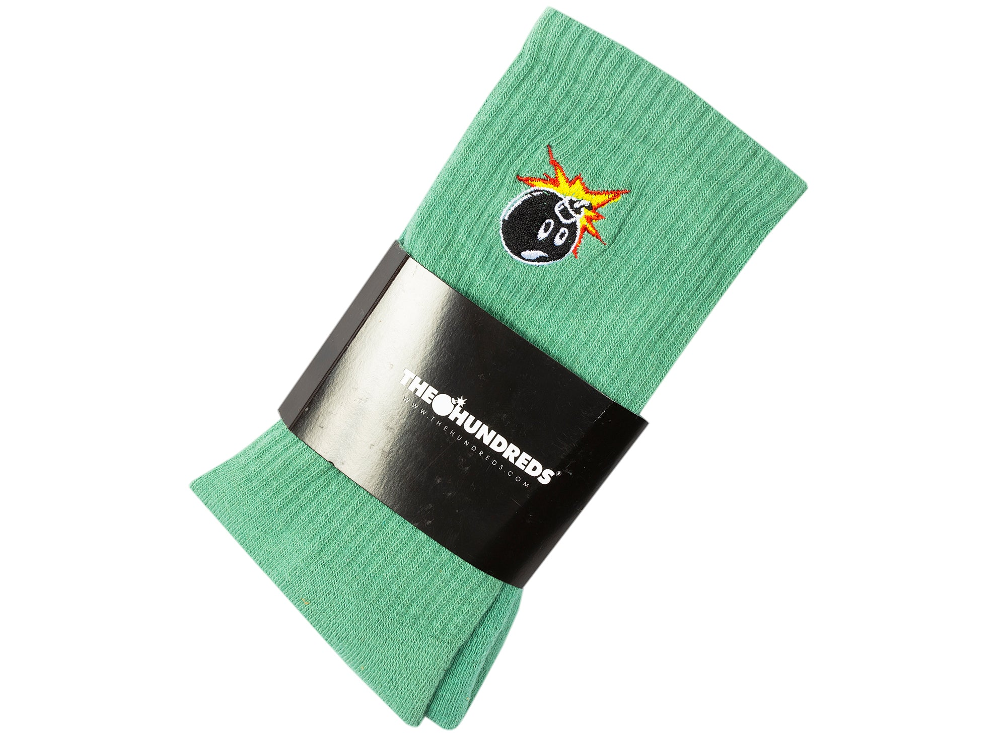 The Hundreds Adam Bomb 20W Socks in Green