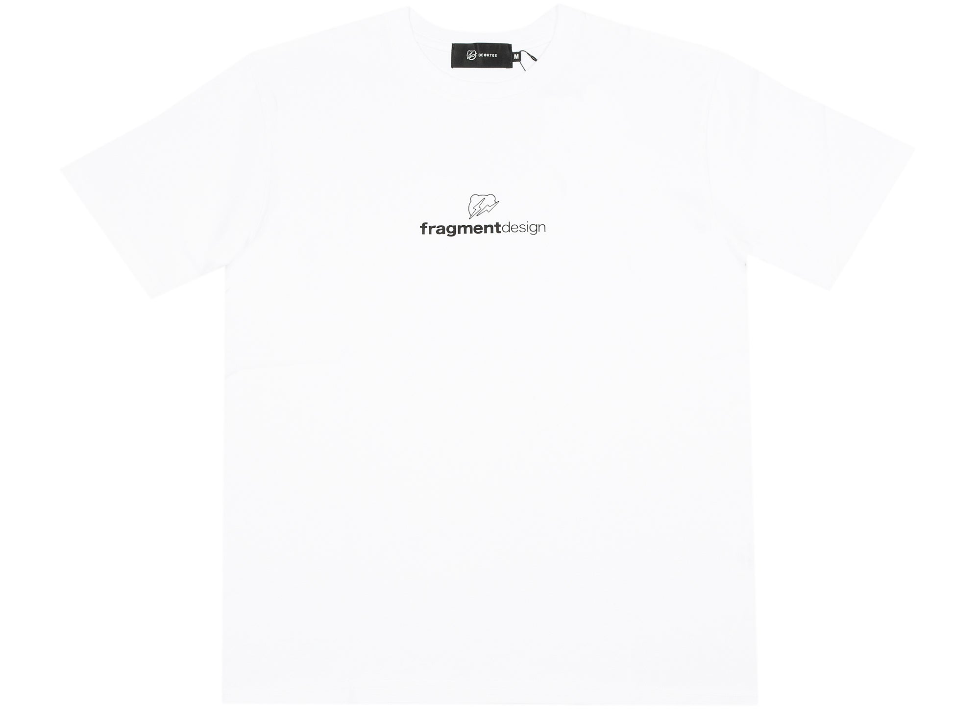 Medicom Toy Be@rtree x fragmentdesign Logo Tee in White xld