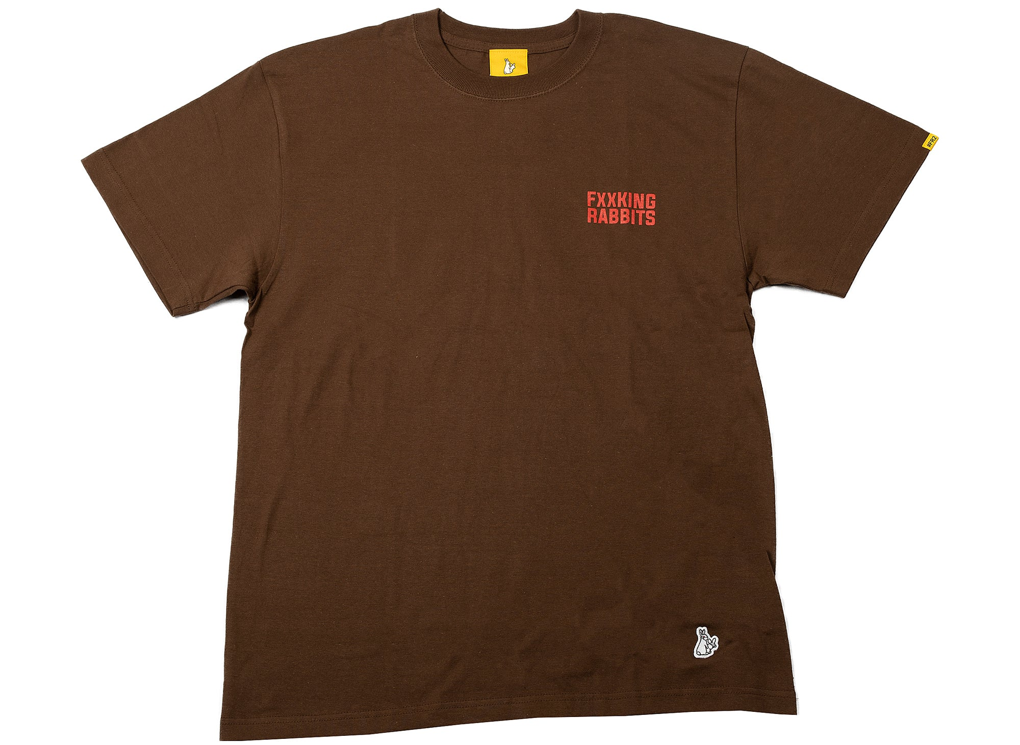 Fucking Rabbits The Pandemic T-Shirt in Brown