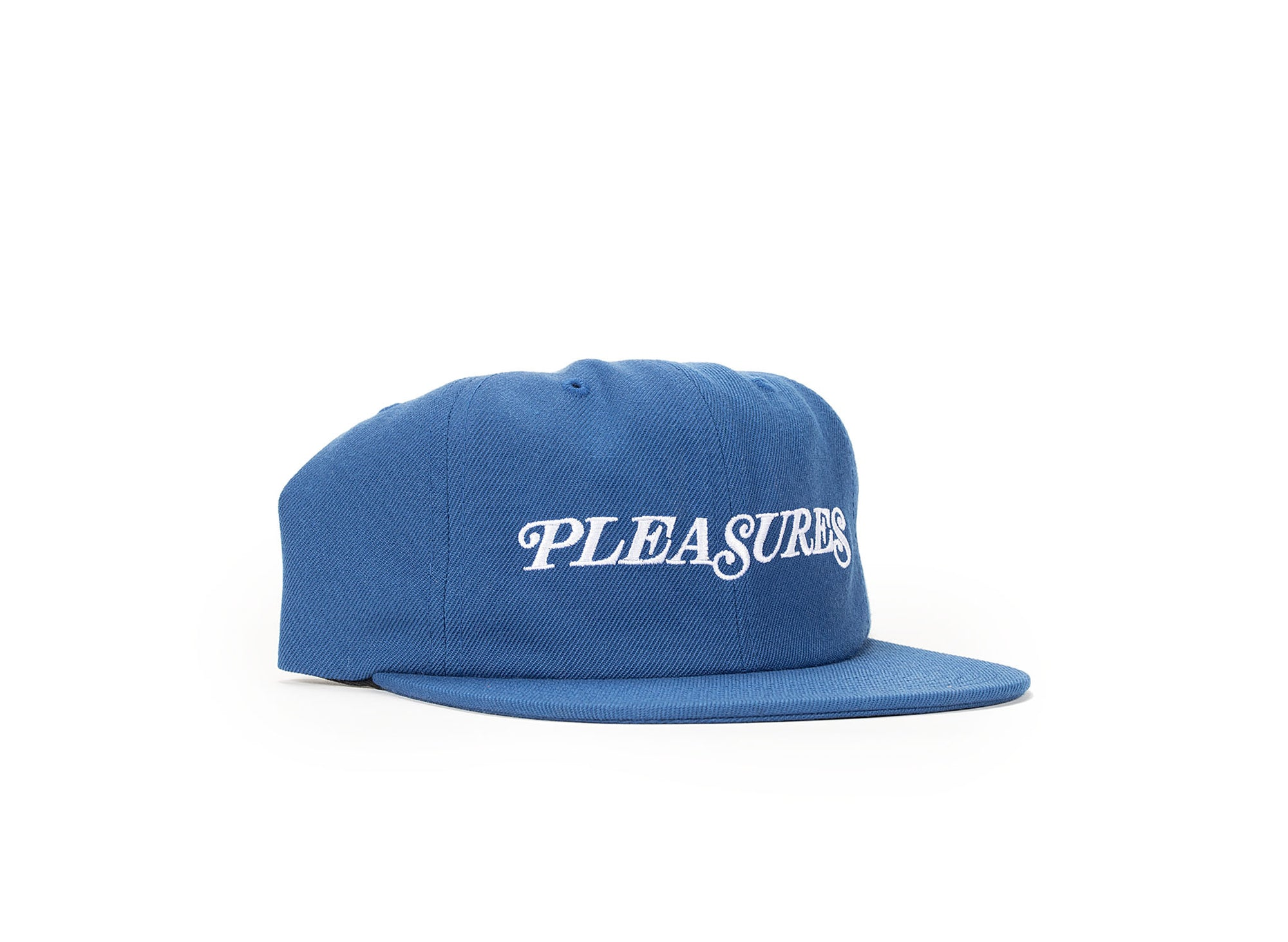 PLEASURES SMITH LOGO SNAPBACK