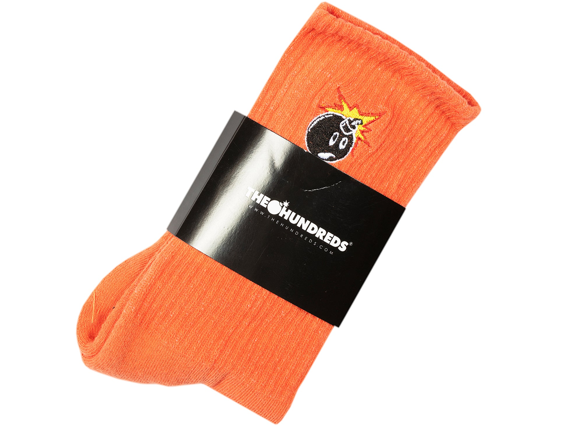 The Hundreds Adam Bomb 20W Socks in Coral