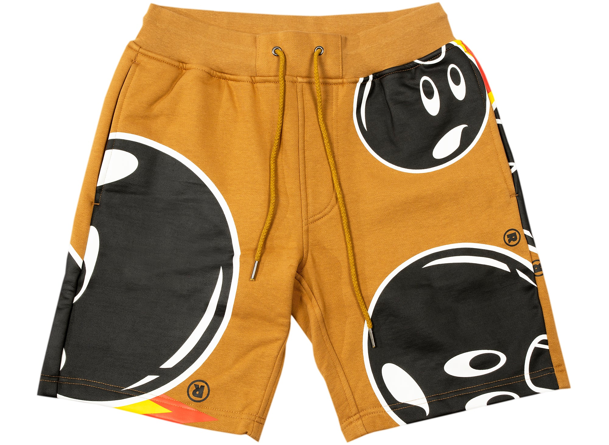 The Hundreds Mad Adam Sweatshorts in Khaki