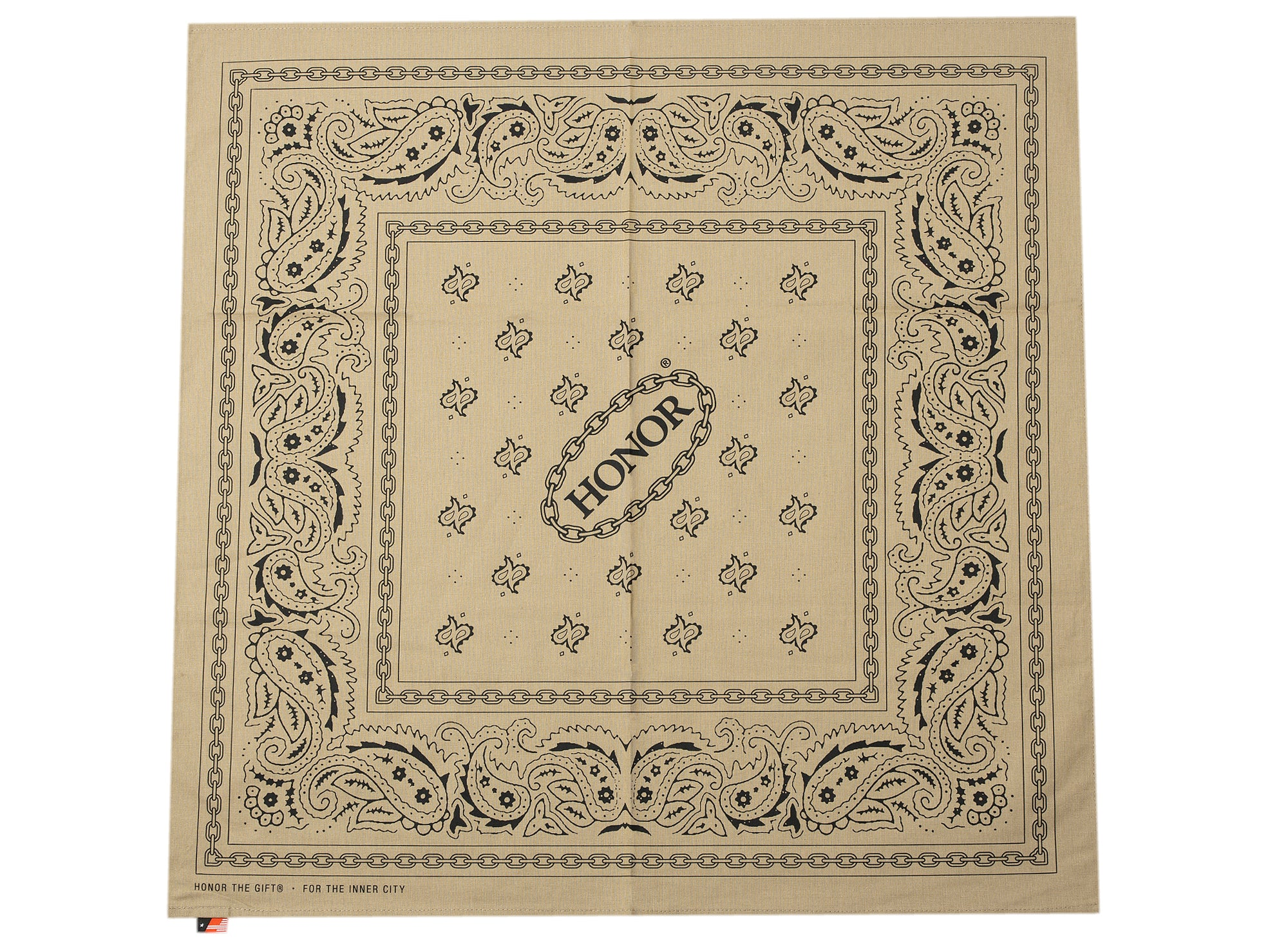 Honor the Gift Honor Shop Bandana in Khaki xld