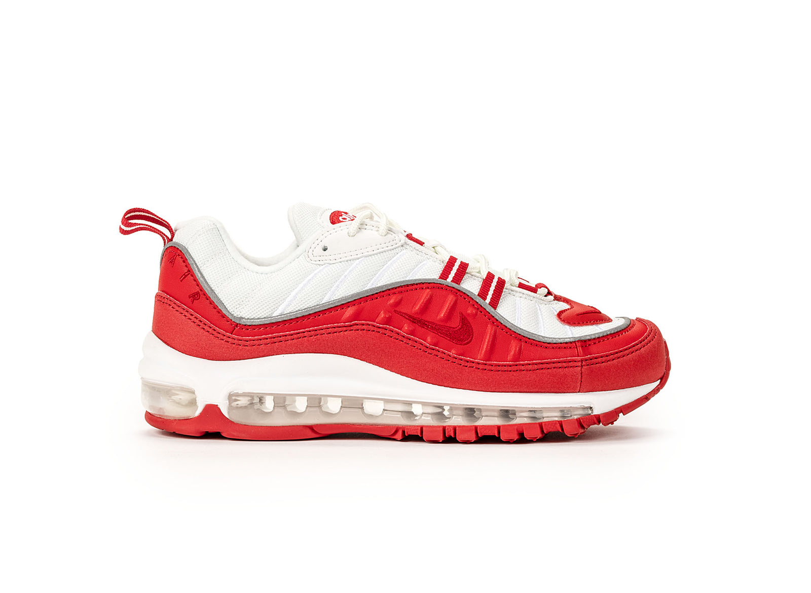 new style b222b 34ab4 Nike Air Max 98 GS - University Red