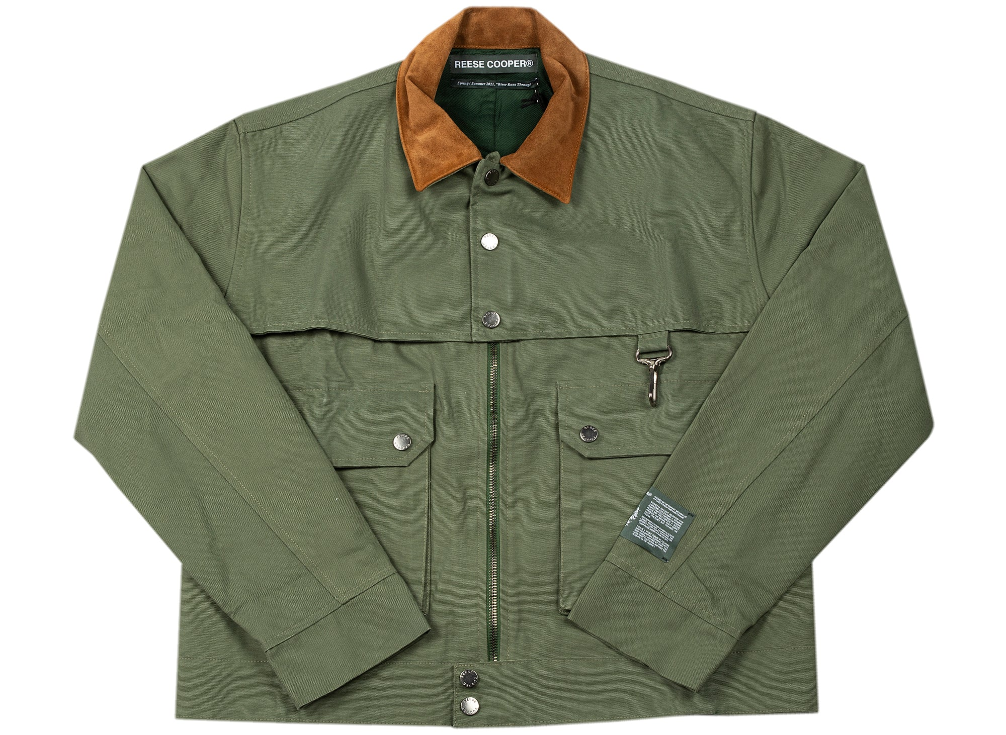 Reese Cooper Brushed Cotton Canvas Work Jacket xld
