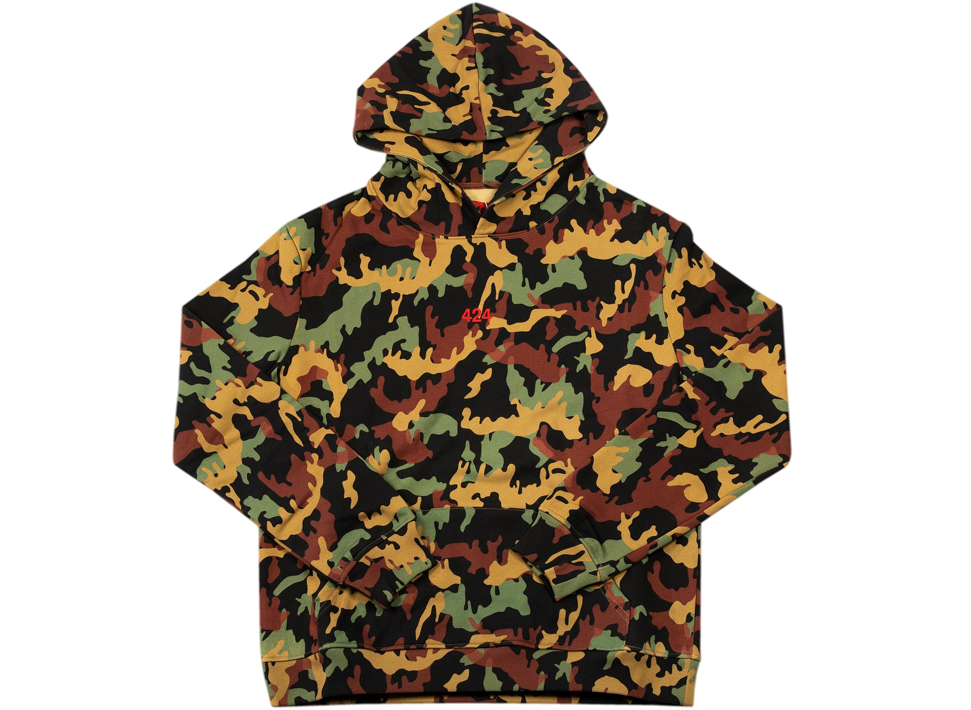 424 Camouflage Hoodie