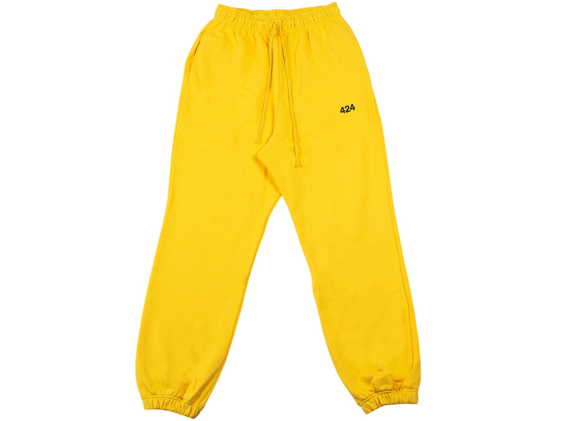 424 Logo Sweatpants in Yellow
