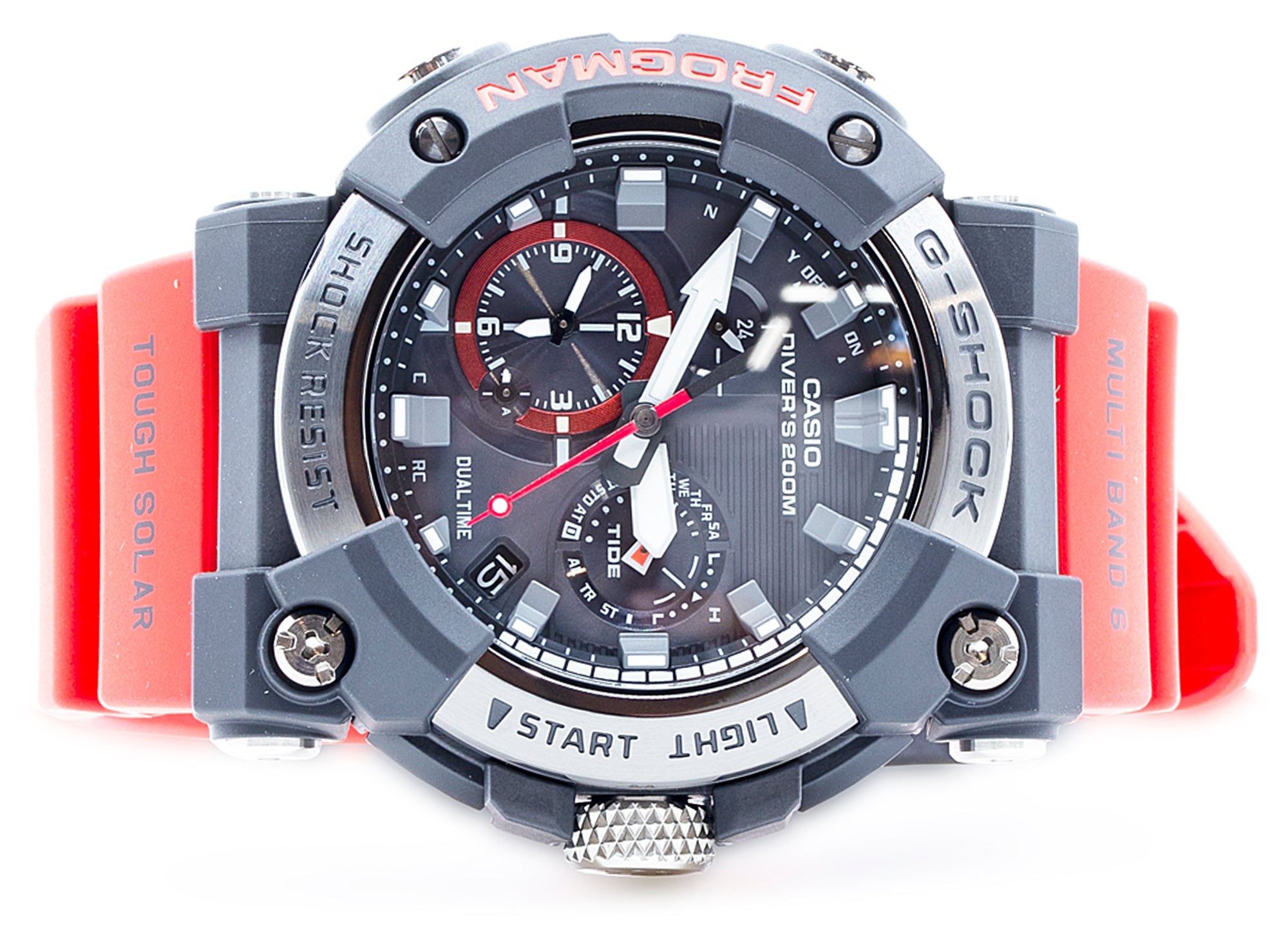 Casio G-SHOCK Master Of G GWFA1000-1A Men's Watch in Red