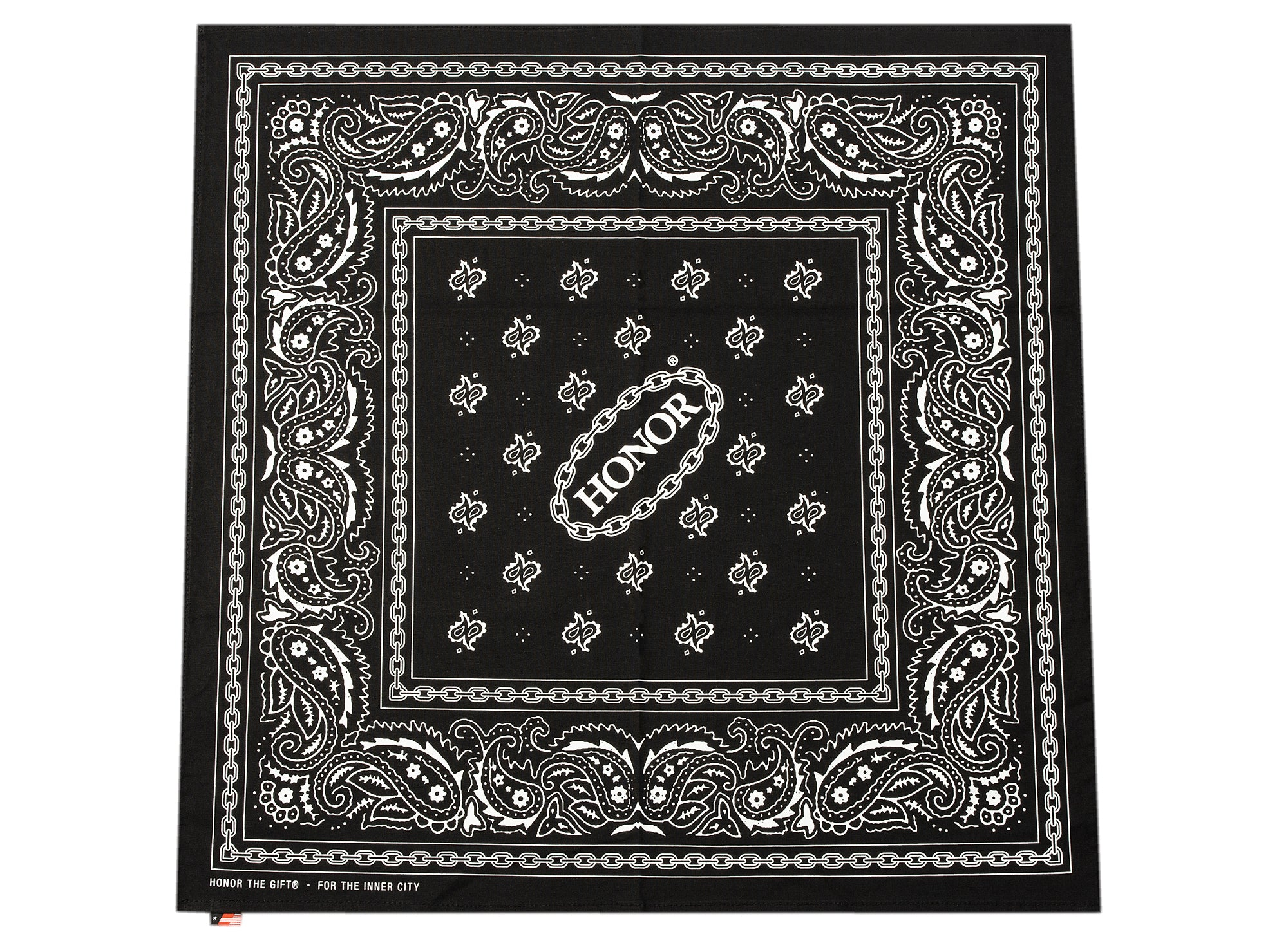 Honor the Gift Honor Shop Bandana in Black xld