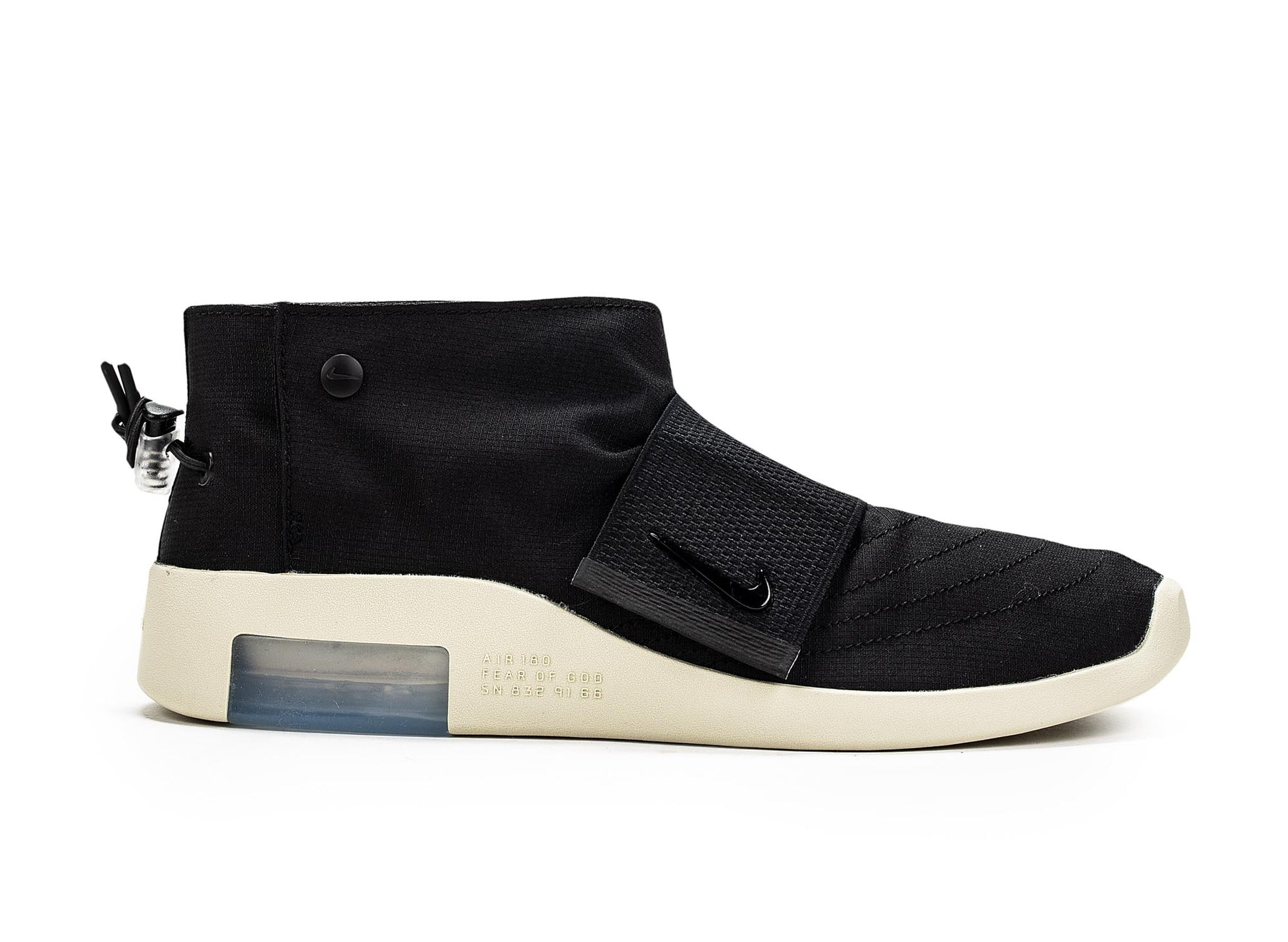 Nike Air x Fear of God Moc 'Black Fossil'