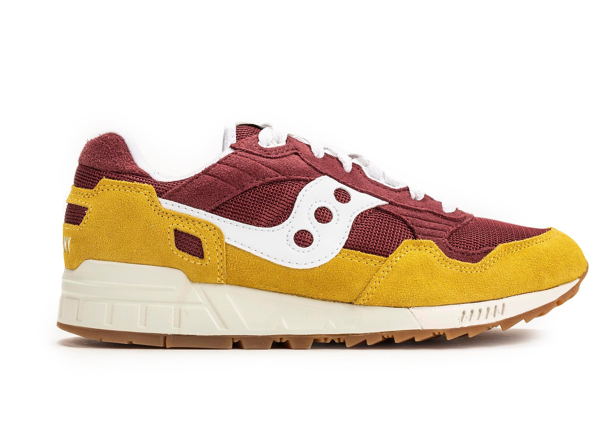 Saucony Shadow 5000 Vintage 'Yellow/Maroon'