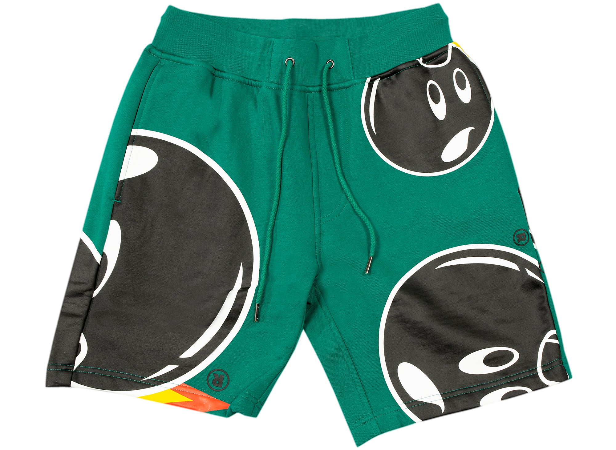 The Hundreds Mad Adam Sweatshorts in Green