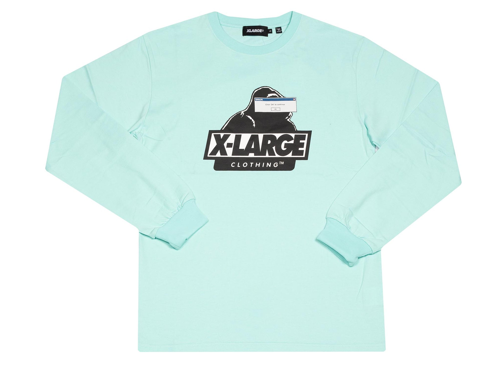 X-LARGE light BLUE INTERFACE OG