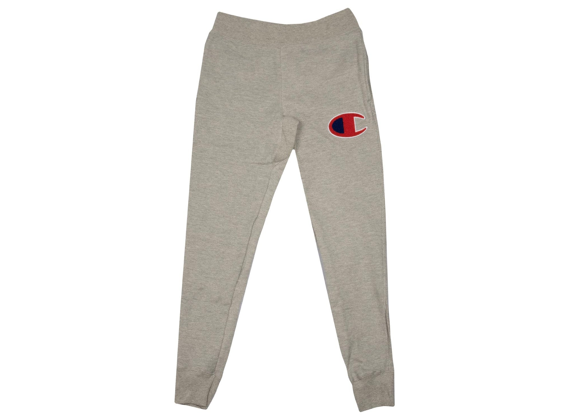 Champion Men's Reverse Weave Jogger 'Chenille Logo' - Oxford Grey