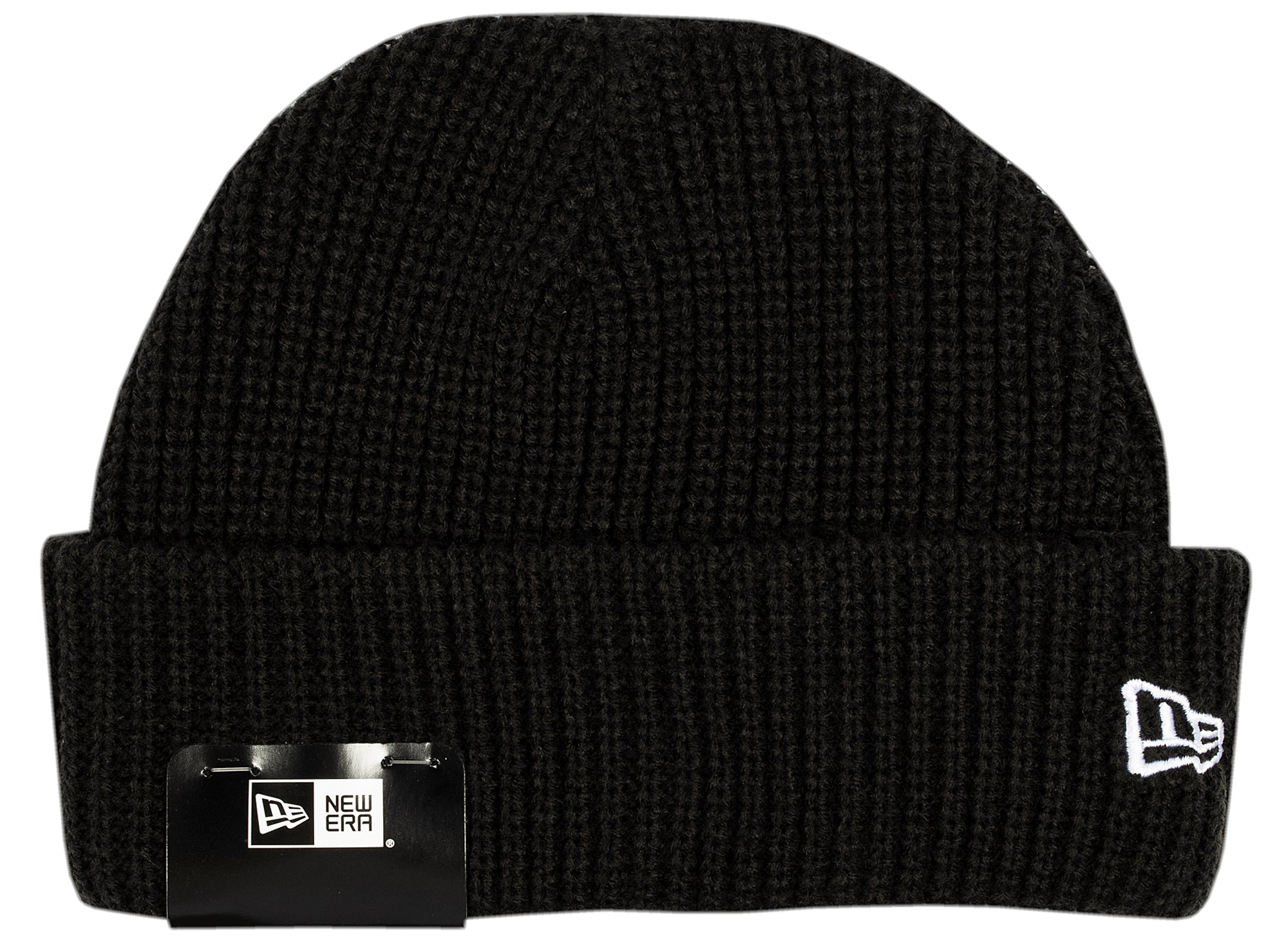 New Era Knit Skully Cap in Black