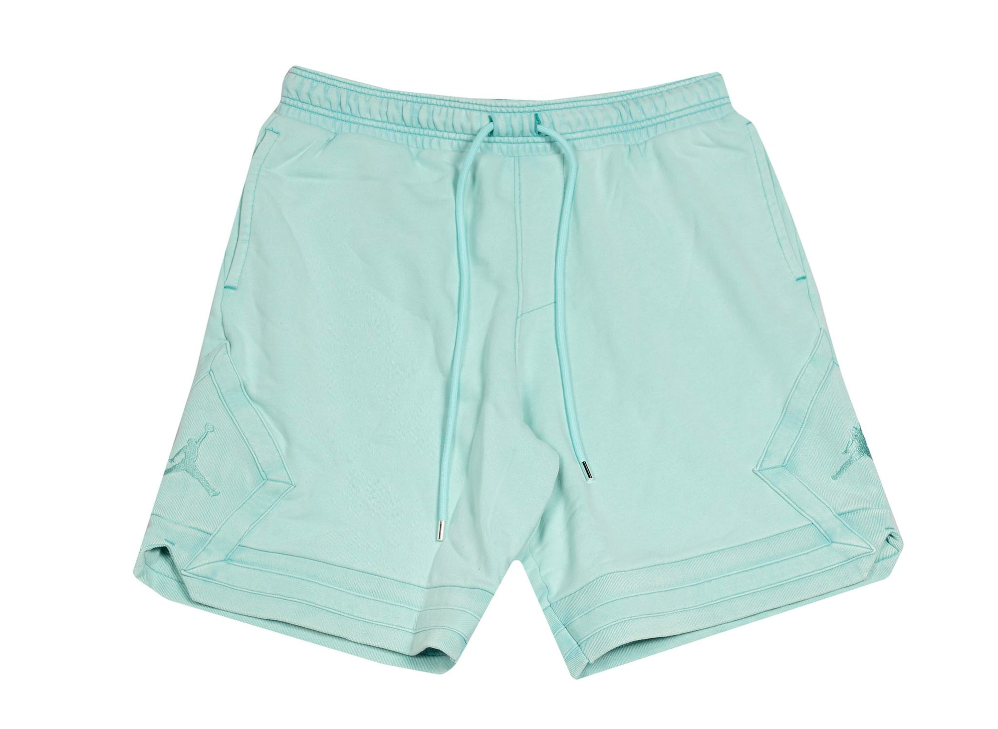 M J WINGS WASH FLC SHORT LIGHT AQUA