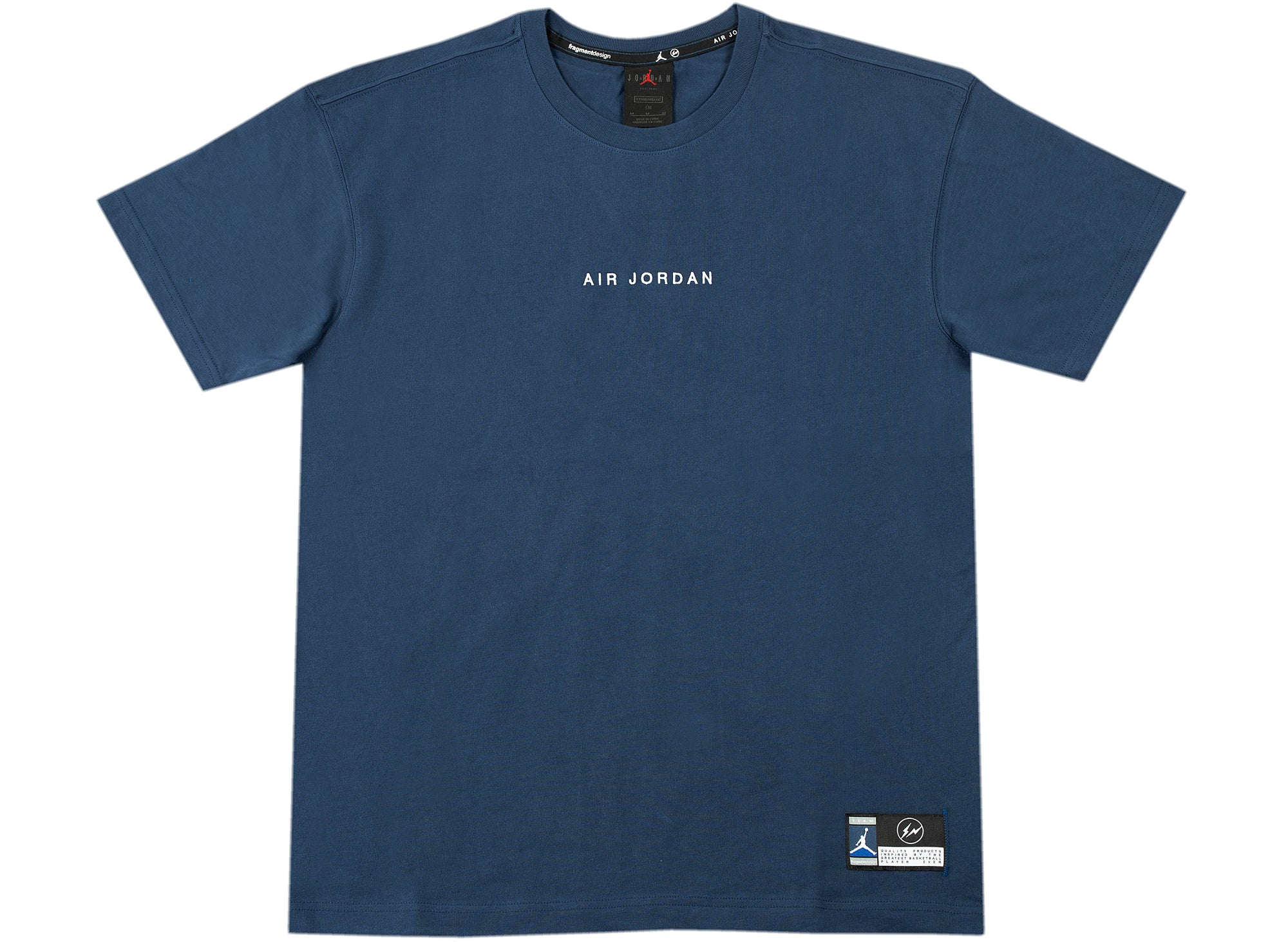 Jordan x Fragment Lifestyle Top in Navy xld