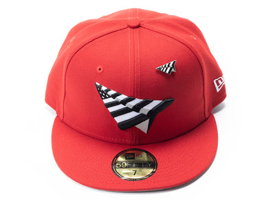 Paper Planes Crimson Crown Fitted xld