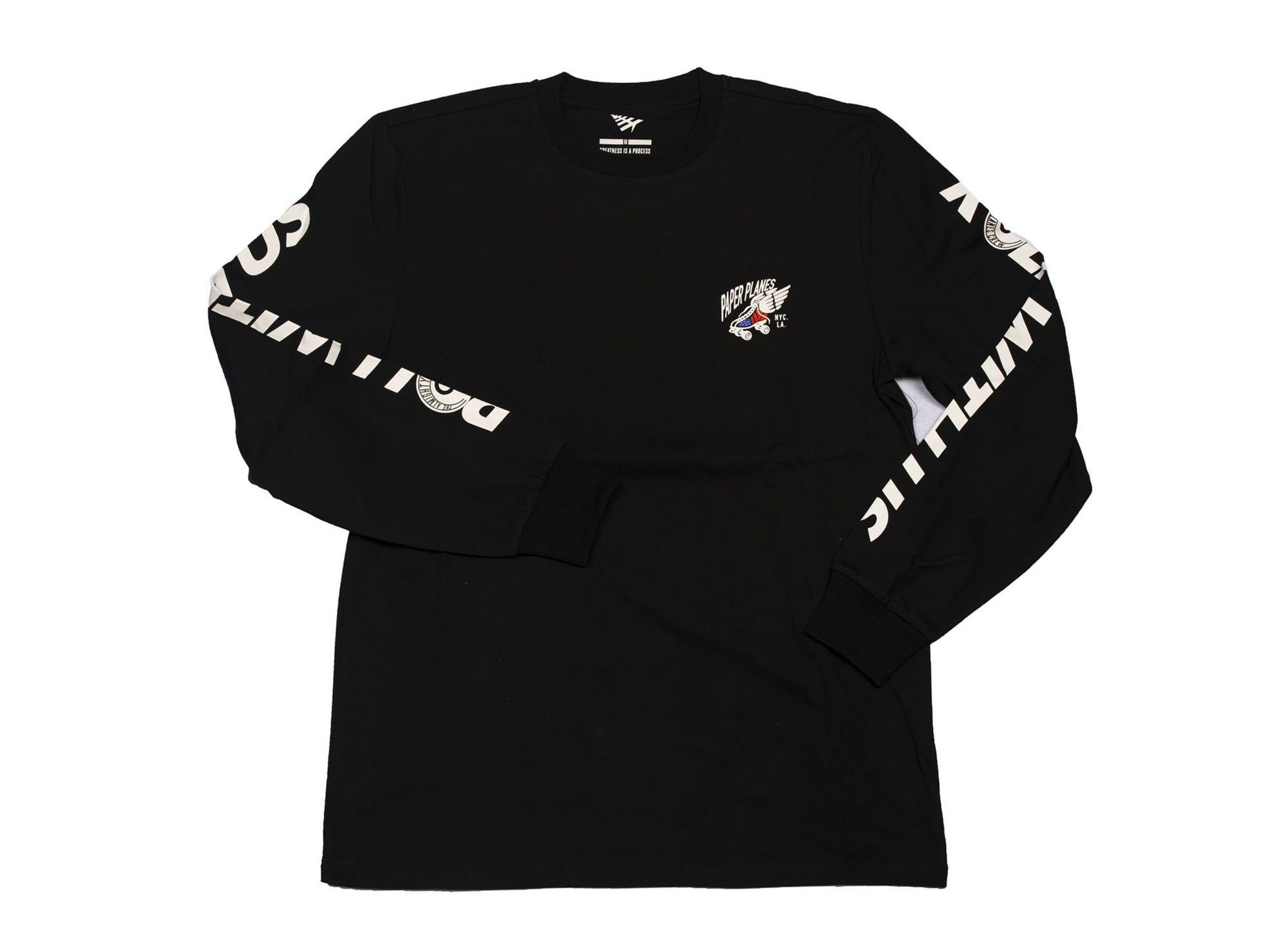 PAPER PLANES ROLL WITH US L/S TEE