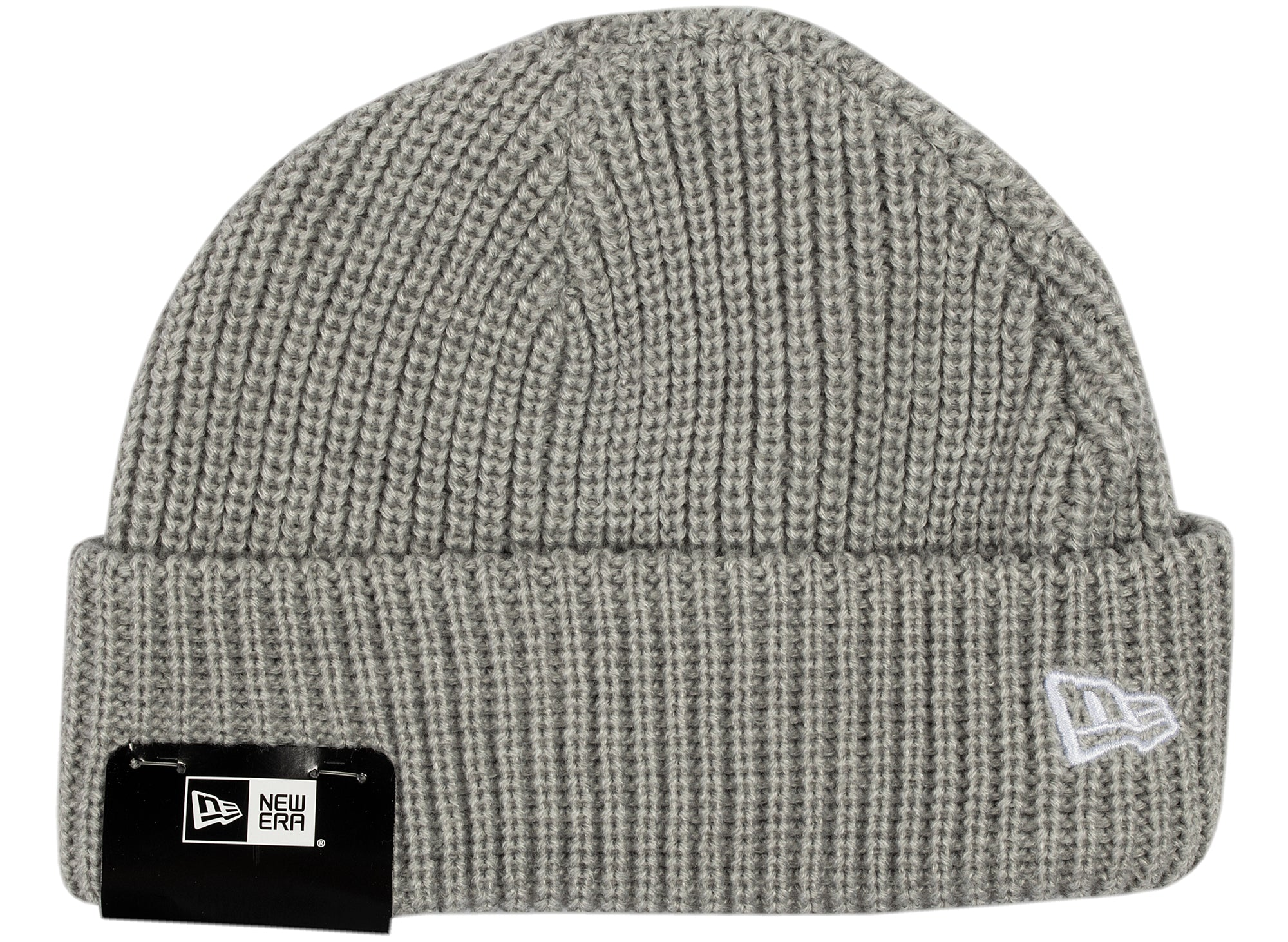 New Era Knit Skully Cap in Grey