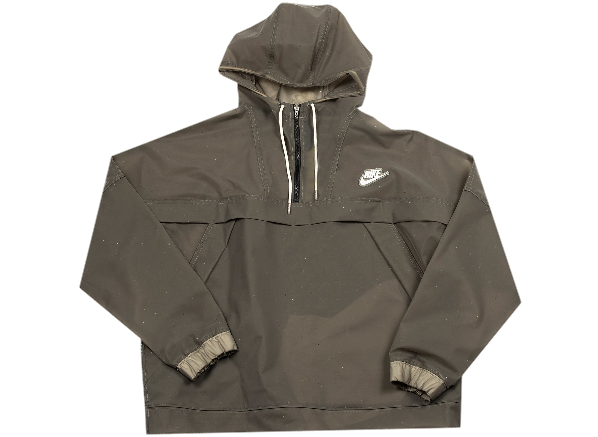 Women's Nike Sportswear Anorak Jacket in Black xld
