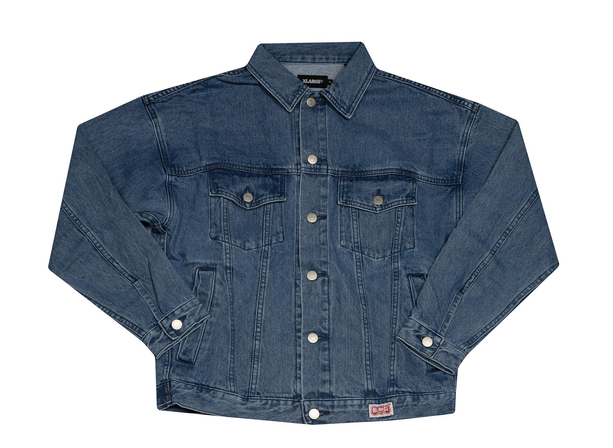 X-LARGE DENIM TRUCKER JACKET INDIGO