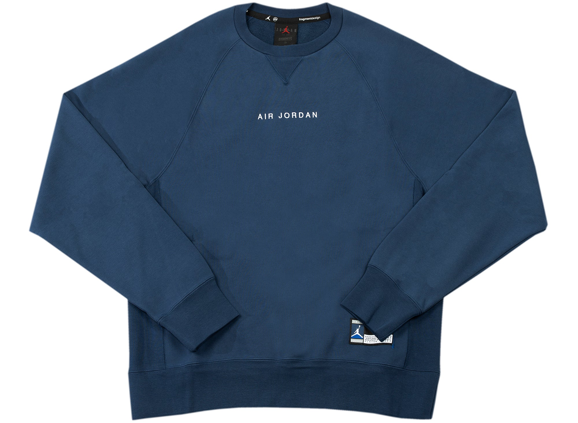 Jordan x Fragment Fleece Crewneck xld
