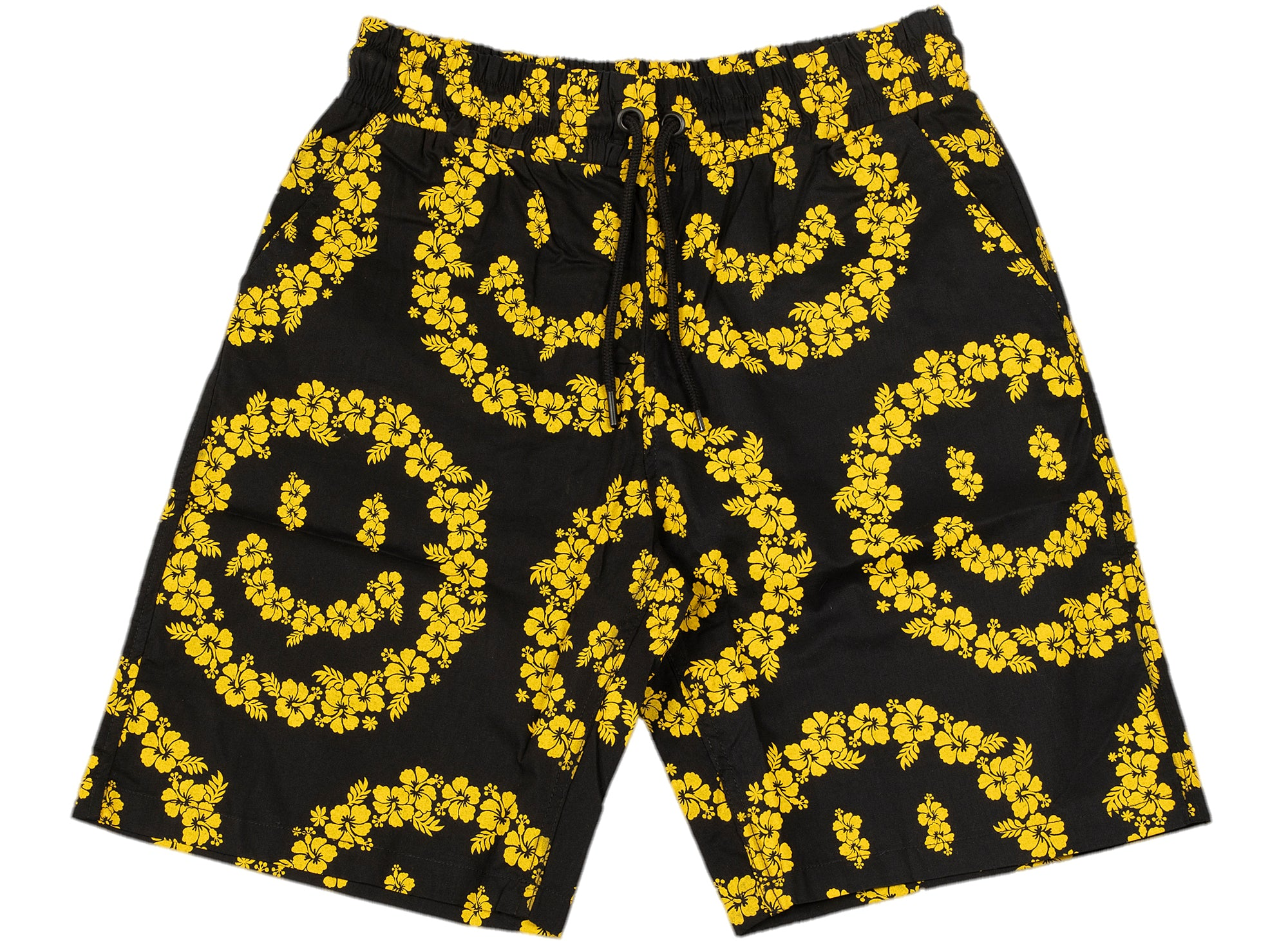 Chinatown Market Smiley Floral Shorts xld