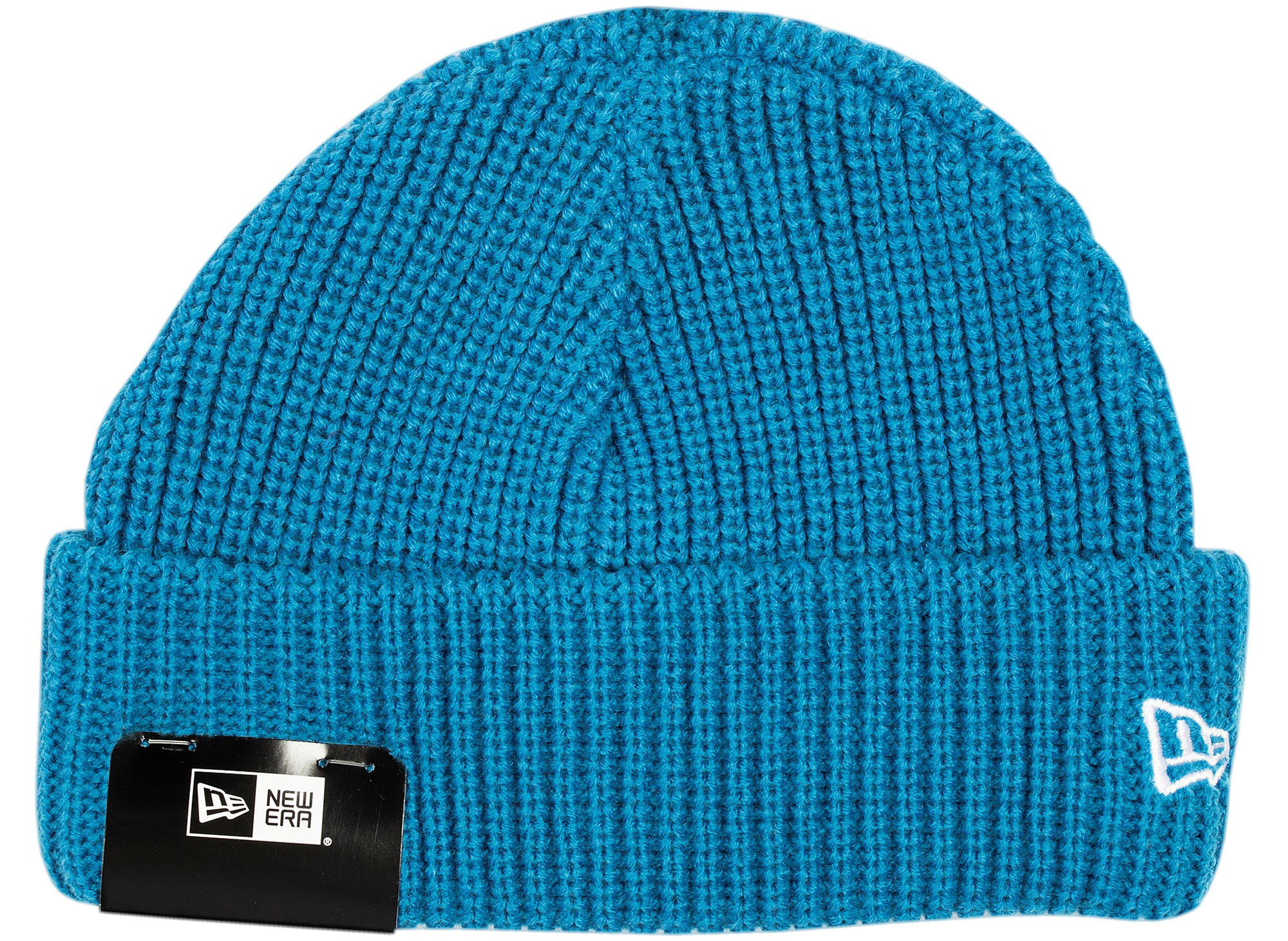 New Era Knit Skully Cap in Blue xld