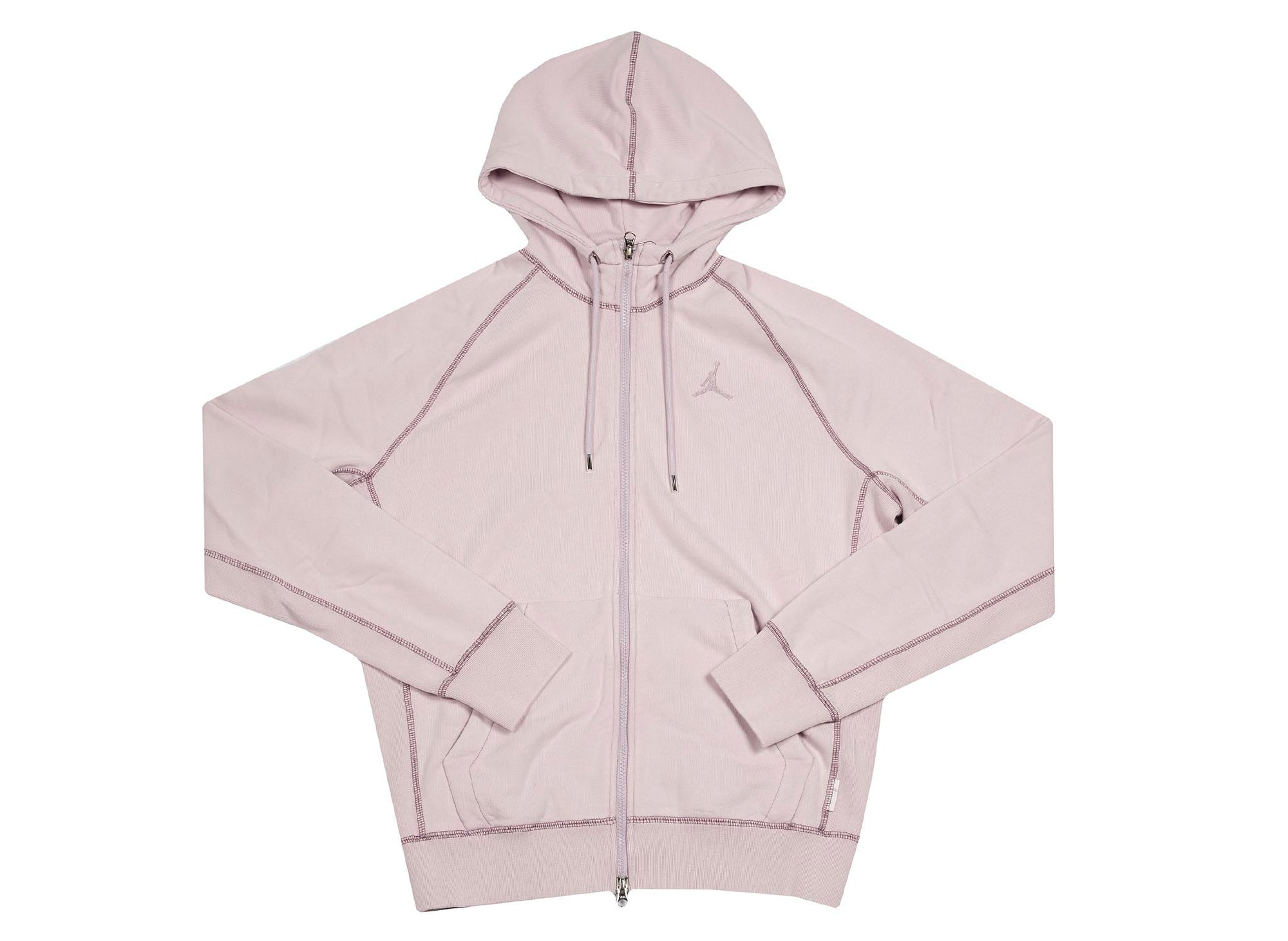 M J WINGS WASH FLC FULL ZIP  ICED LILAC