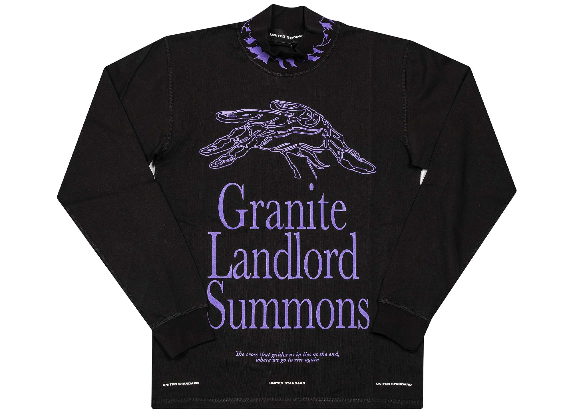 United Standard Rayon Vert Granite Long Sleeve