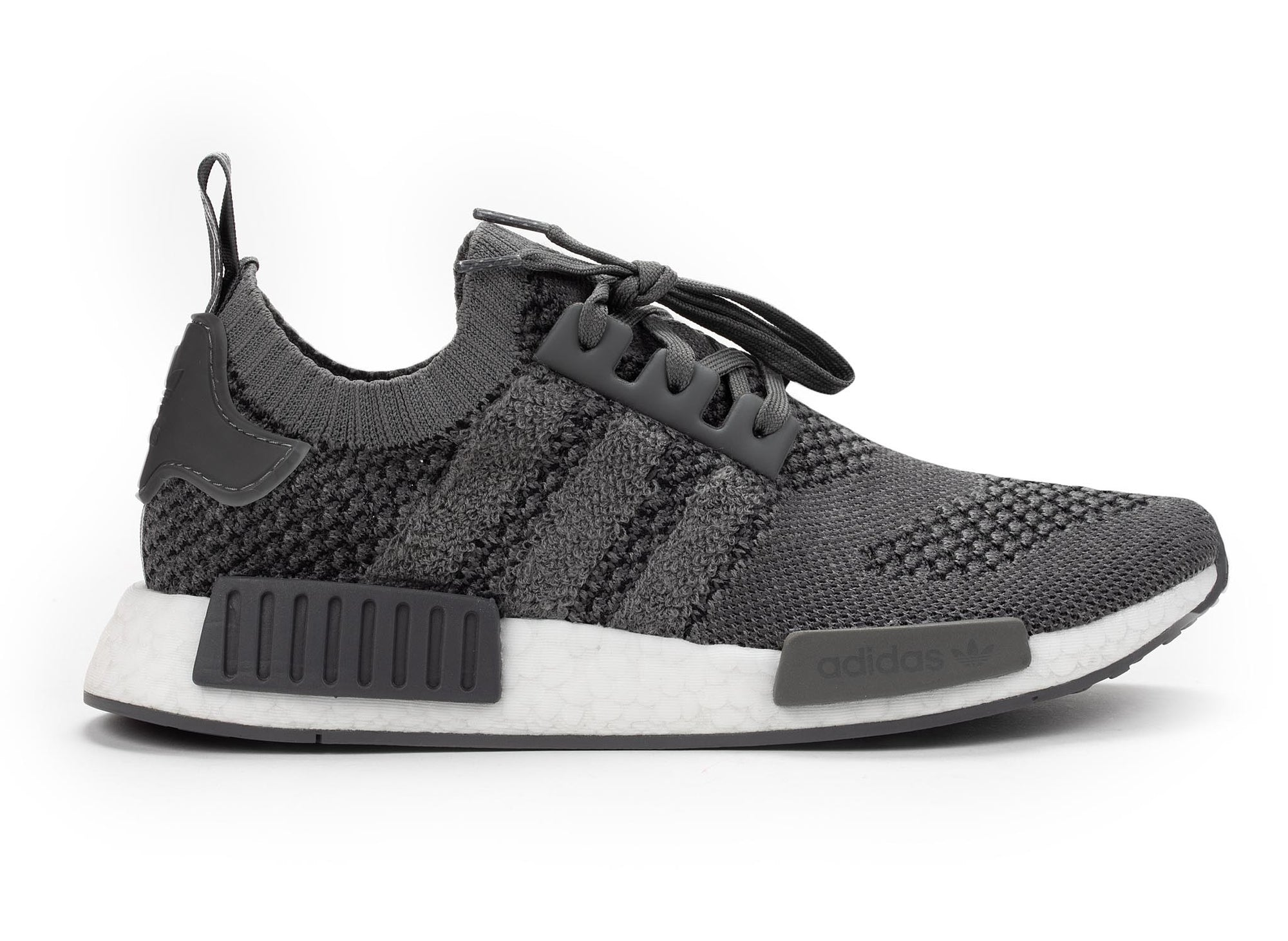 best website 5feeb f9304 adidas NMD R1 Primeknit 'Ash Grey'