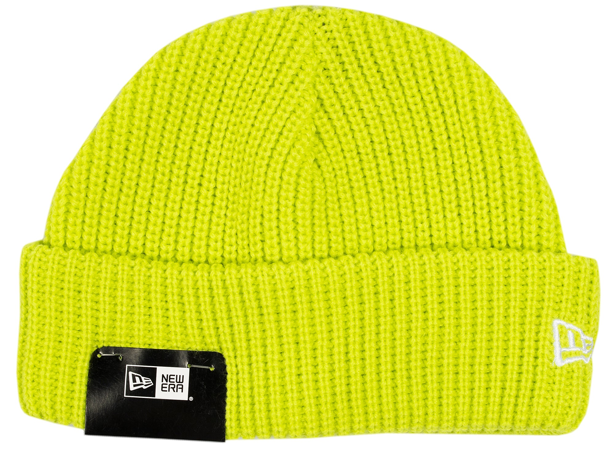 New Era Knit Skully Cap in Cyber Green xld