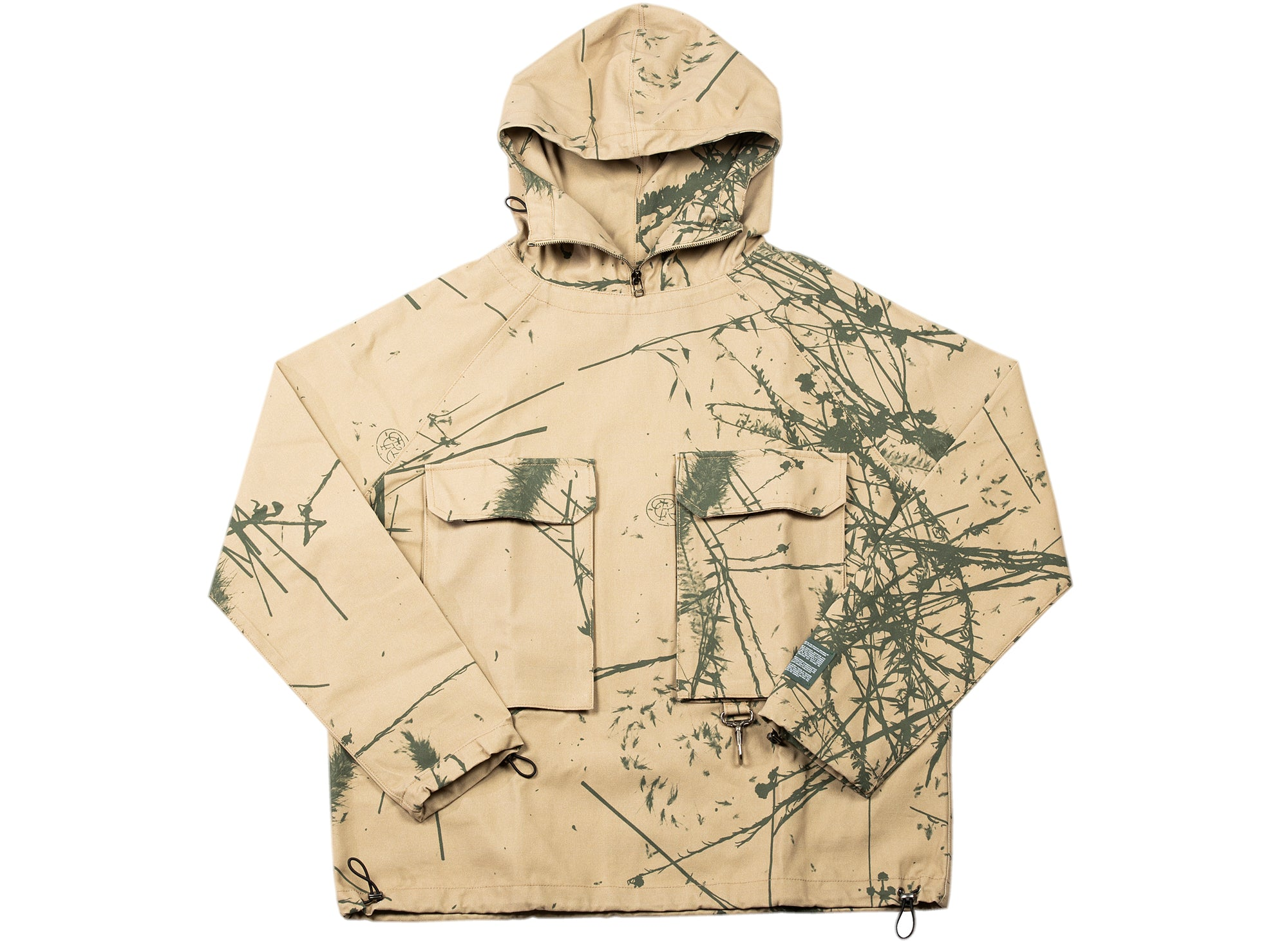 Reese Cooper Brushed Cotton Canvas Anorak xld