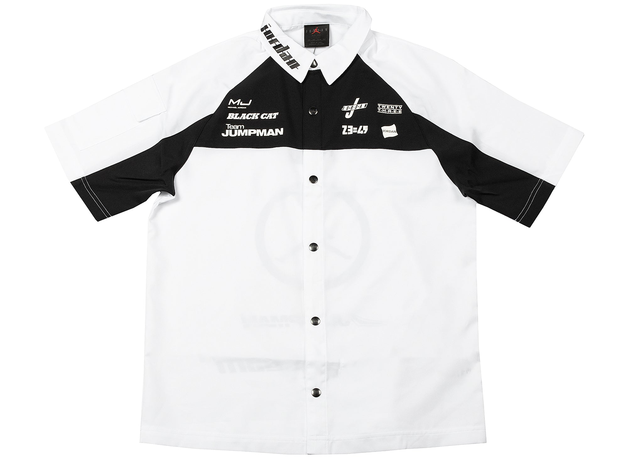 Women's Jordan 'Moto' S/S Button Up Shirt