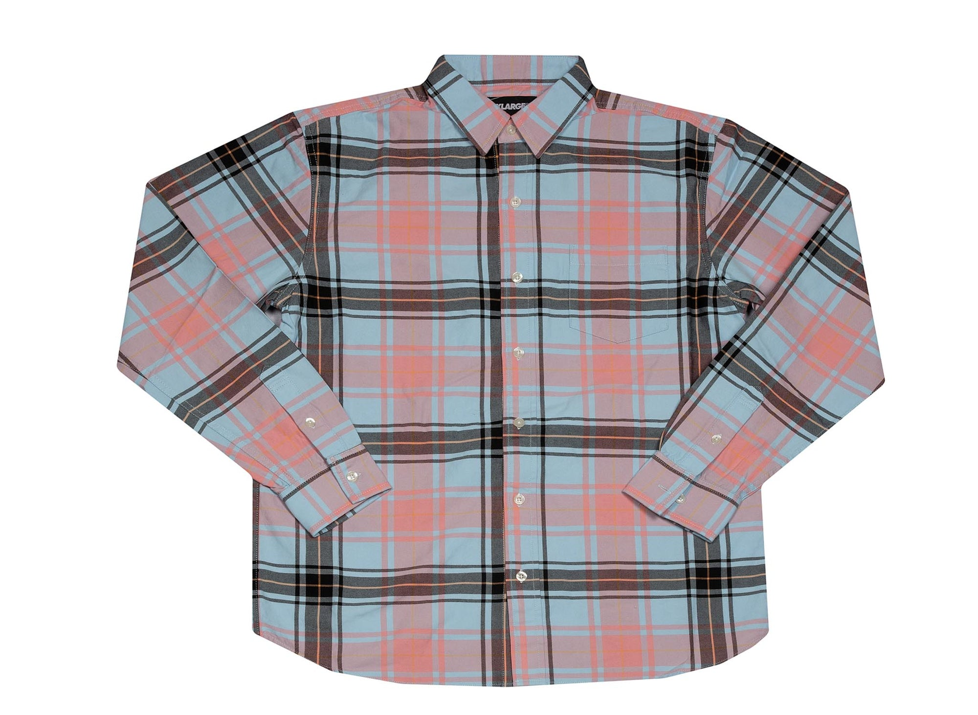 X-LARGE PLAID PATTERN SHIRT