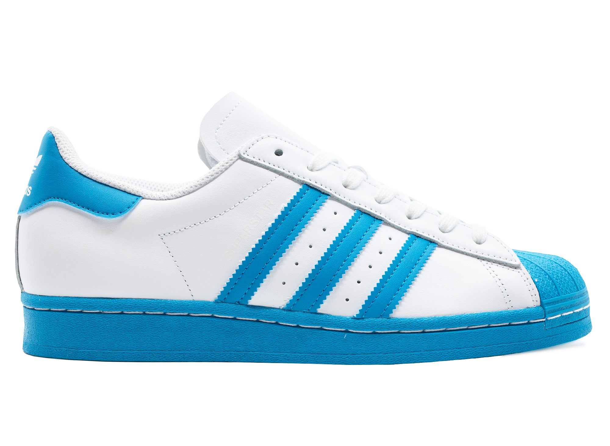 Adidas Superstar Shoes 'Bold Aqua'