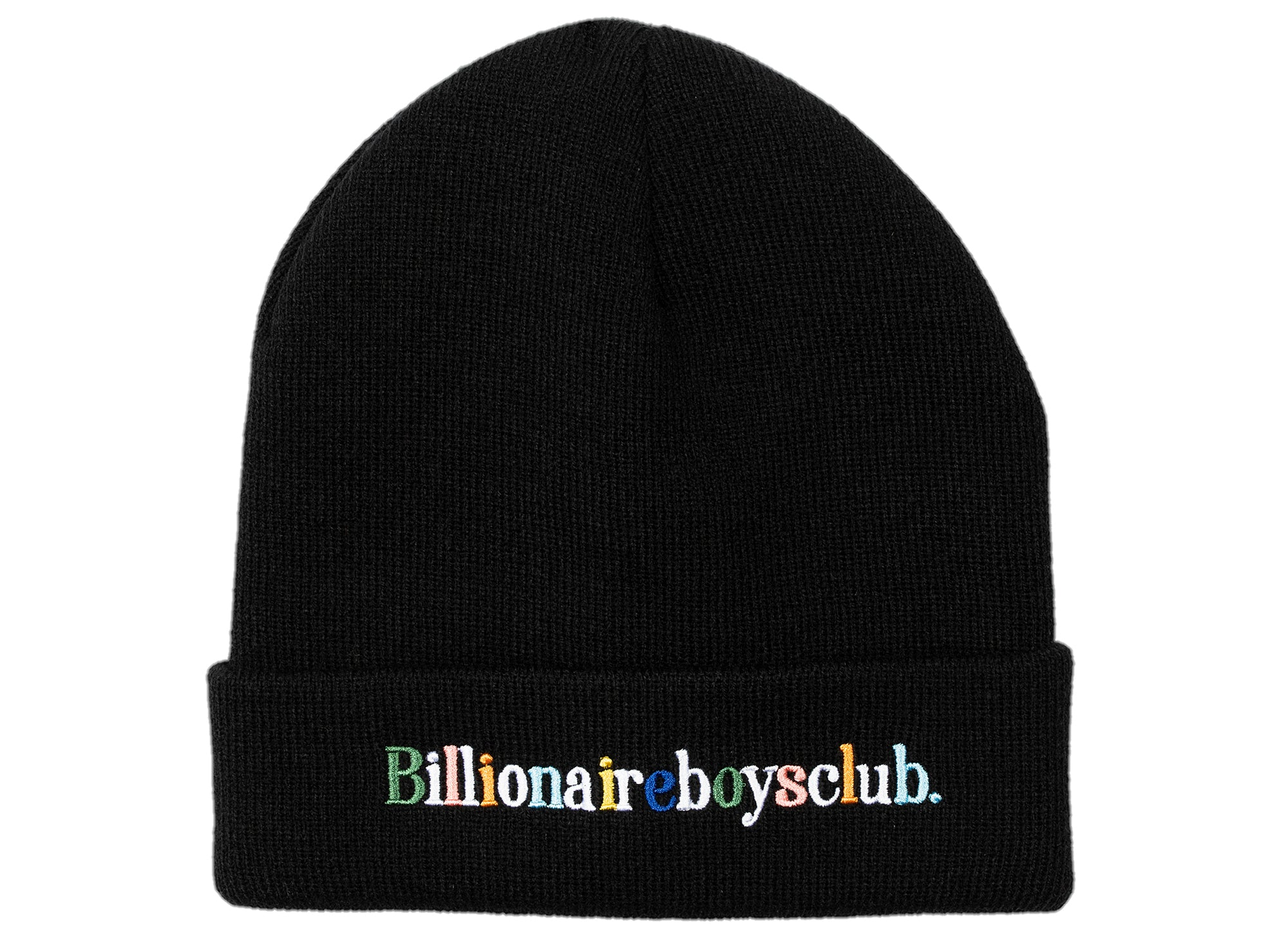 BBC Alphabet Skully Beanie in Black