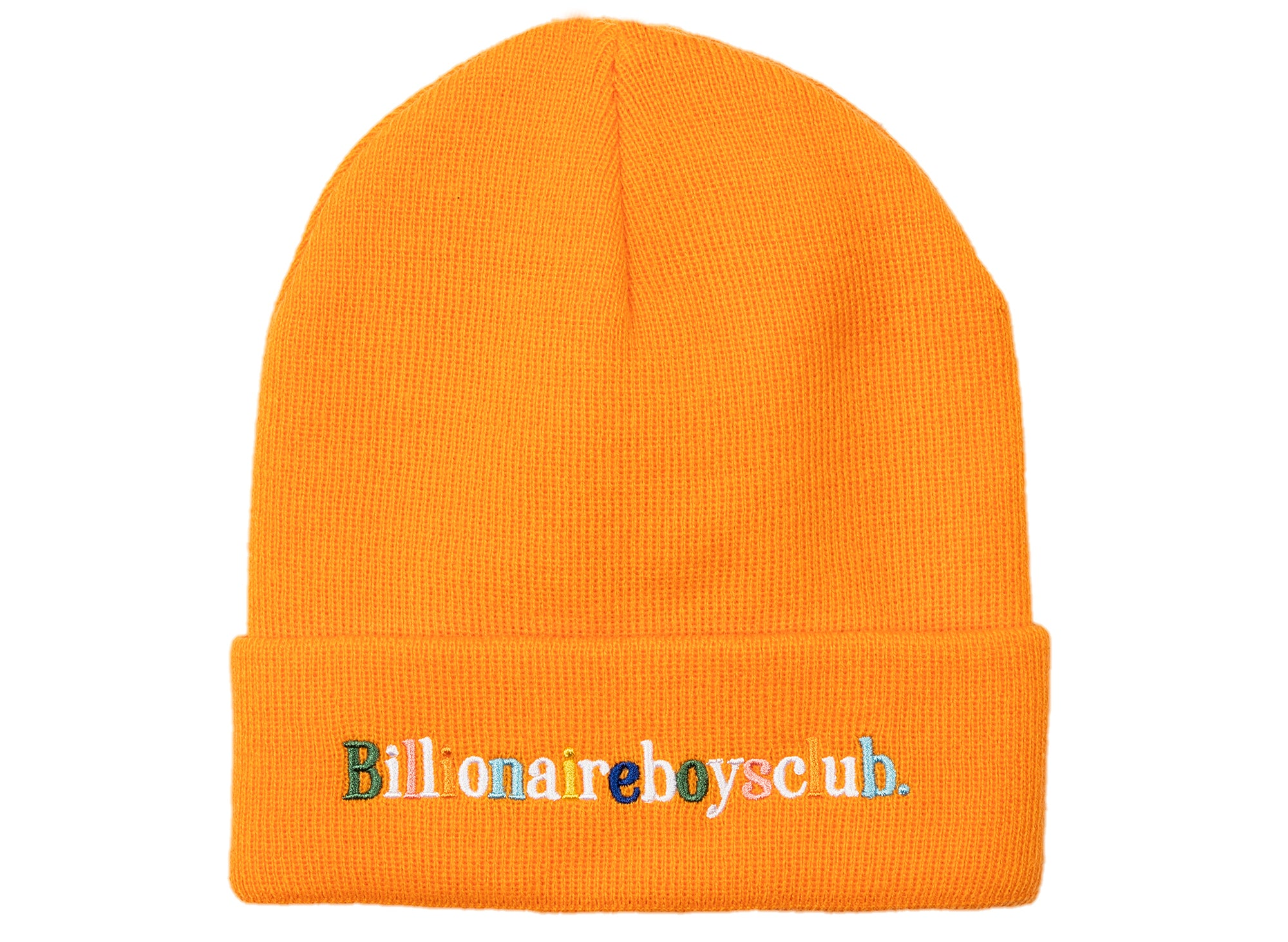 BBC Alphabet Skully Beanie in Orange