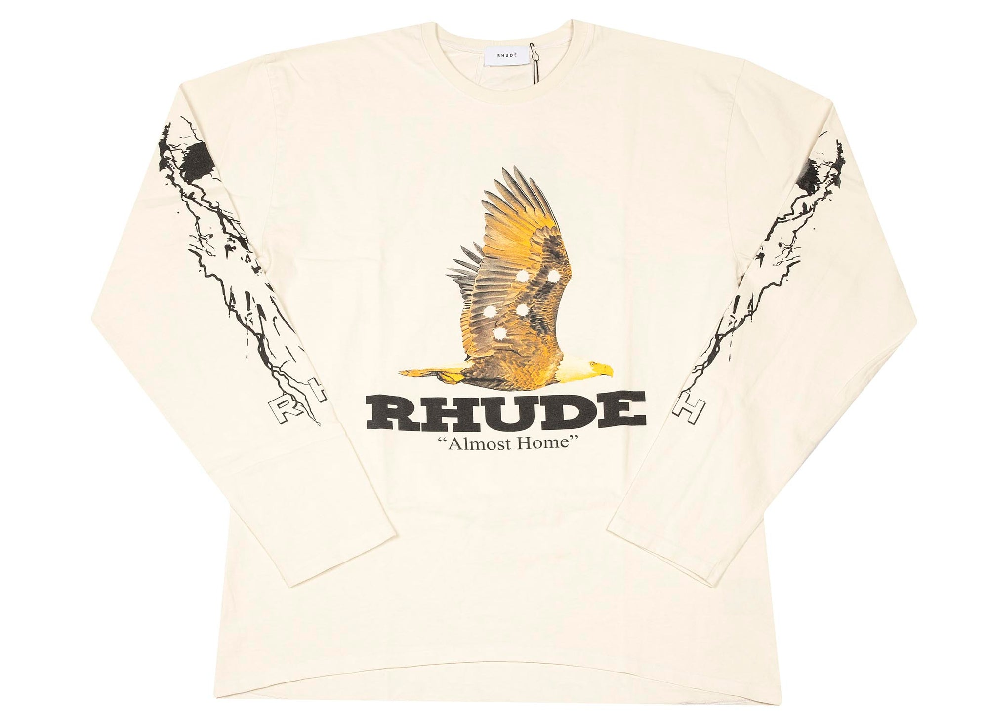 RHUDE ALMOST HOME TEE LONGSLEEVE
