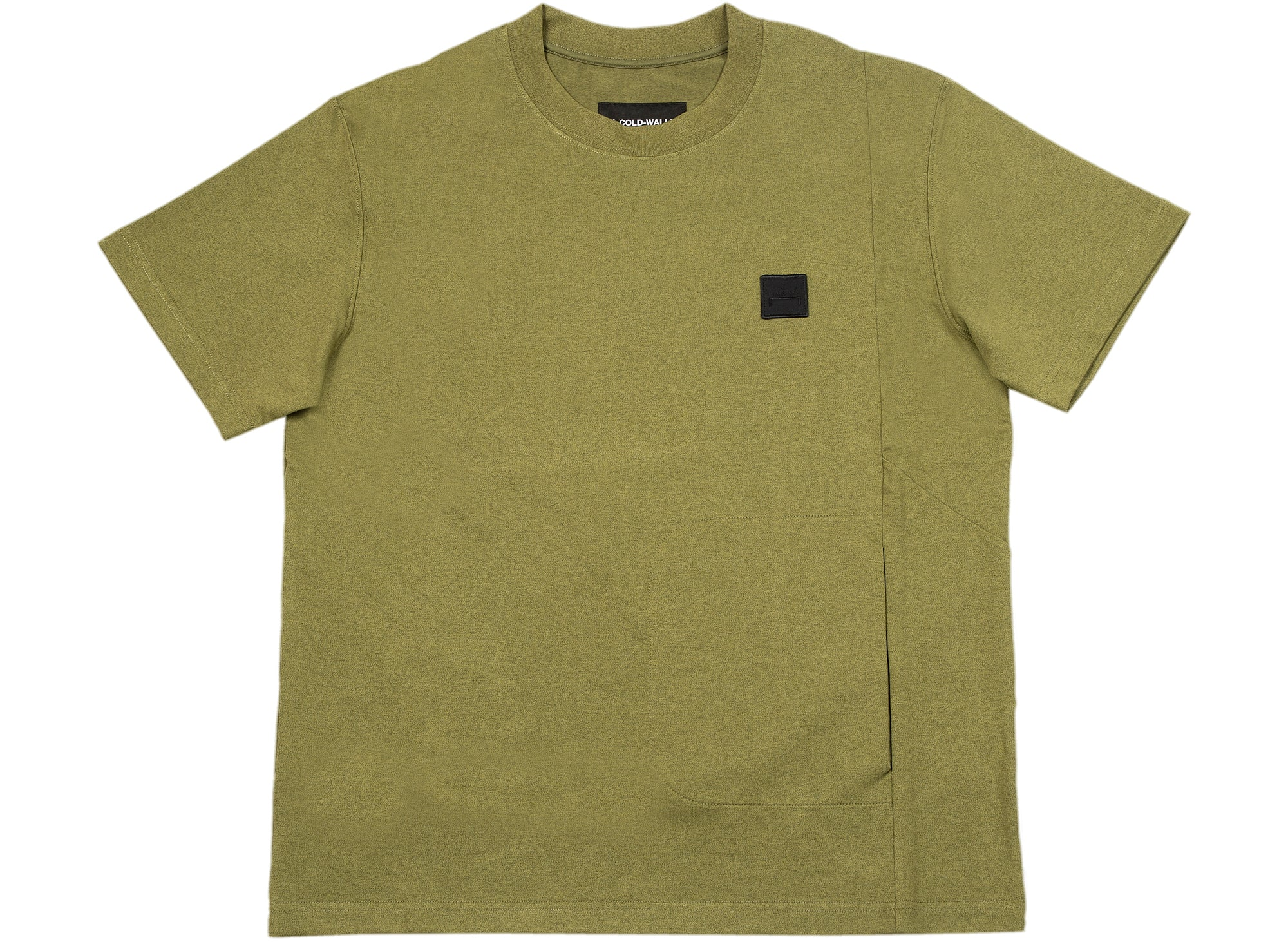 A-COLD-WALL* Utility Short Sleeve Tee in Military Green xld