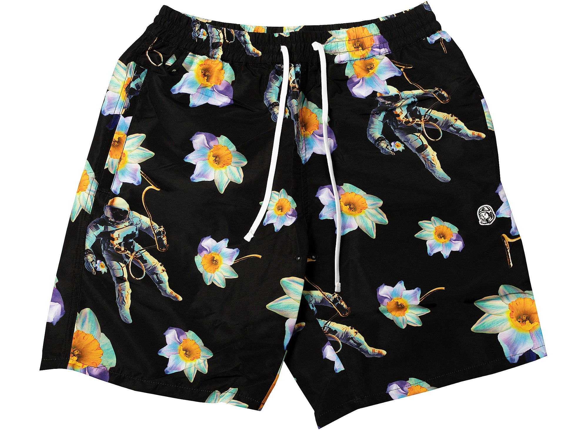BBC Floating Bloom Shorts in Black