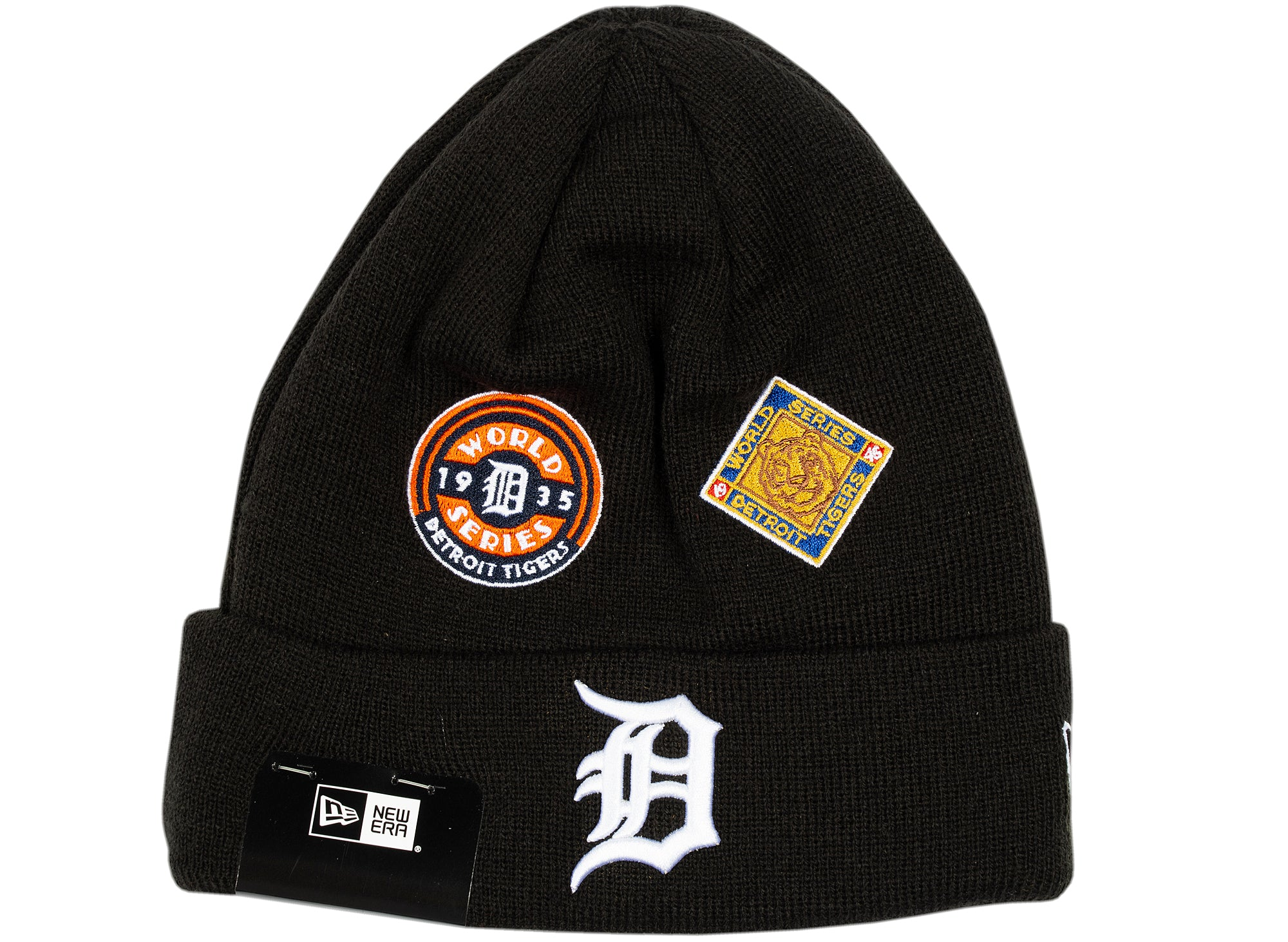 New Era Tigers Knit Cuff Beanie xld