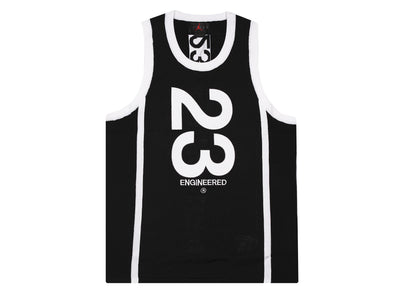 Jordan 23 Engineered Jersey 'Black/White'
