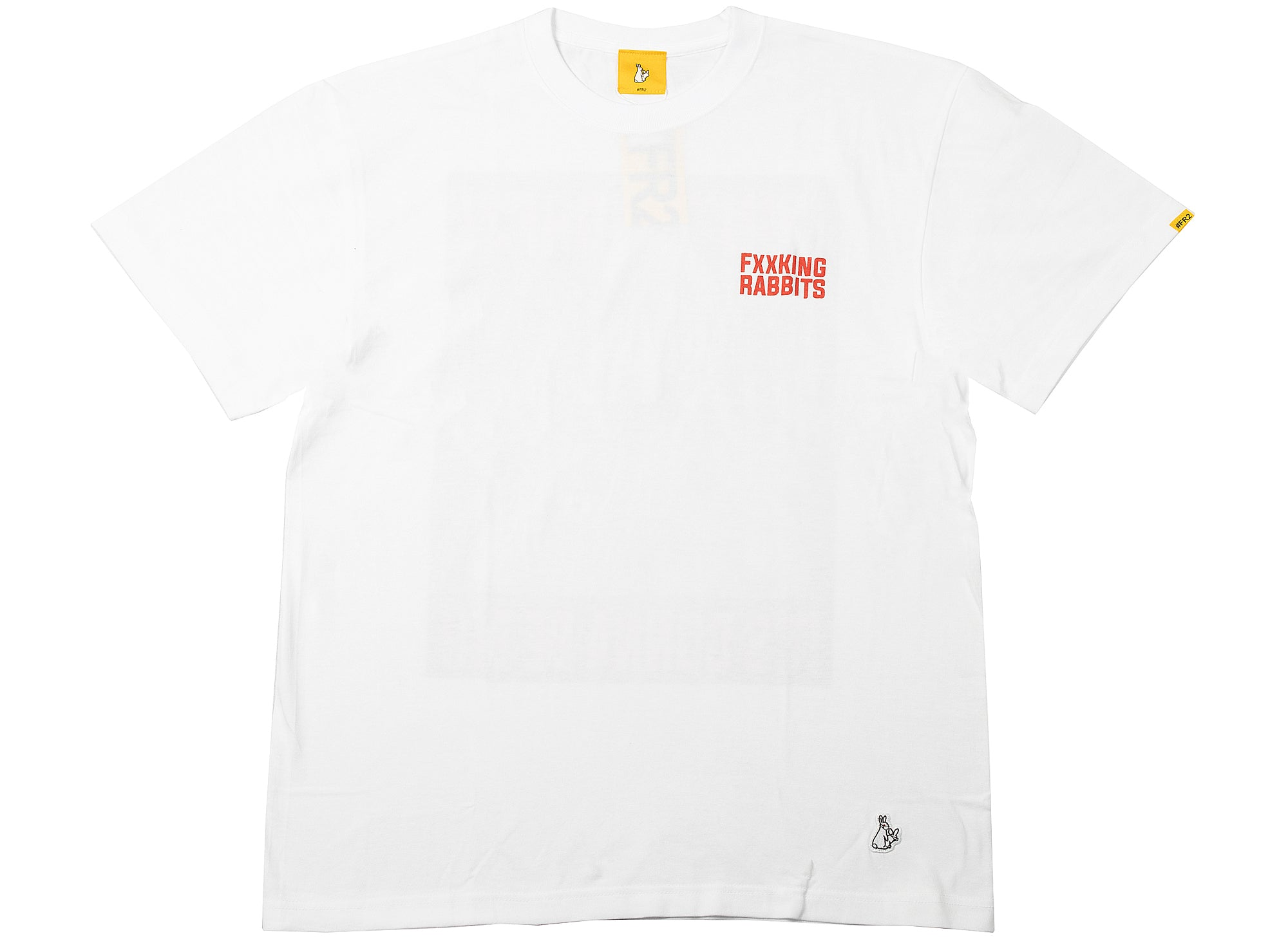 Fucking Rabbits The Pandemic T-Shirt in White