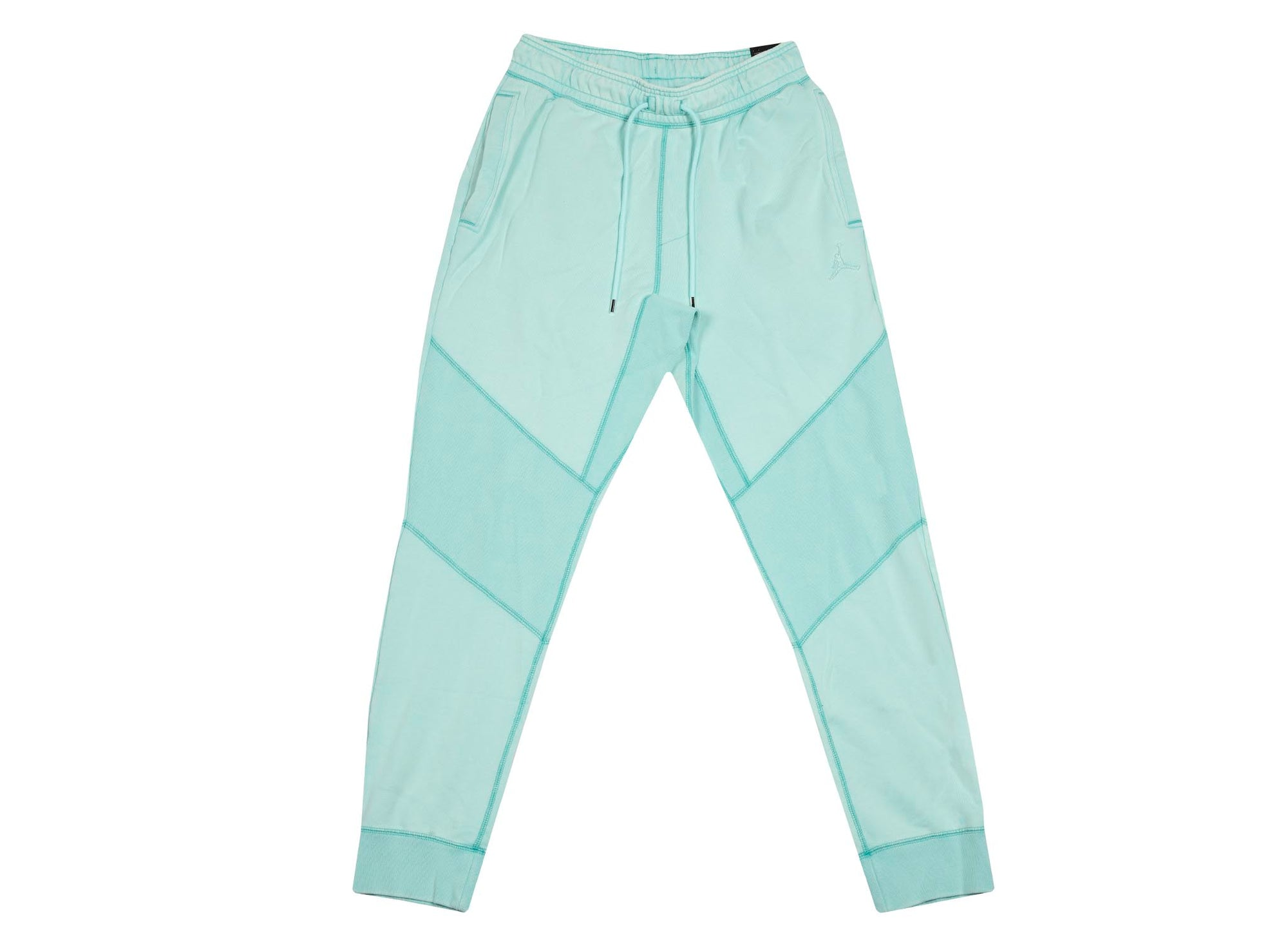 M J WINGS FLEECE PANT LOOP LIGHT AQUA