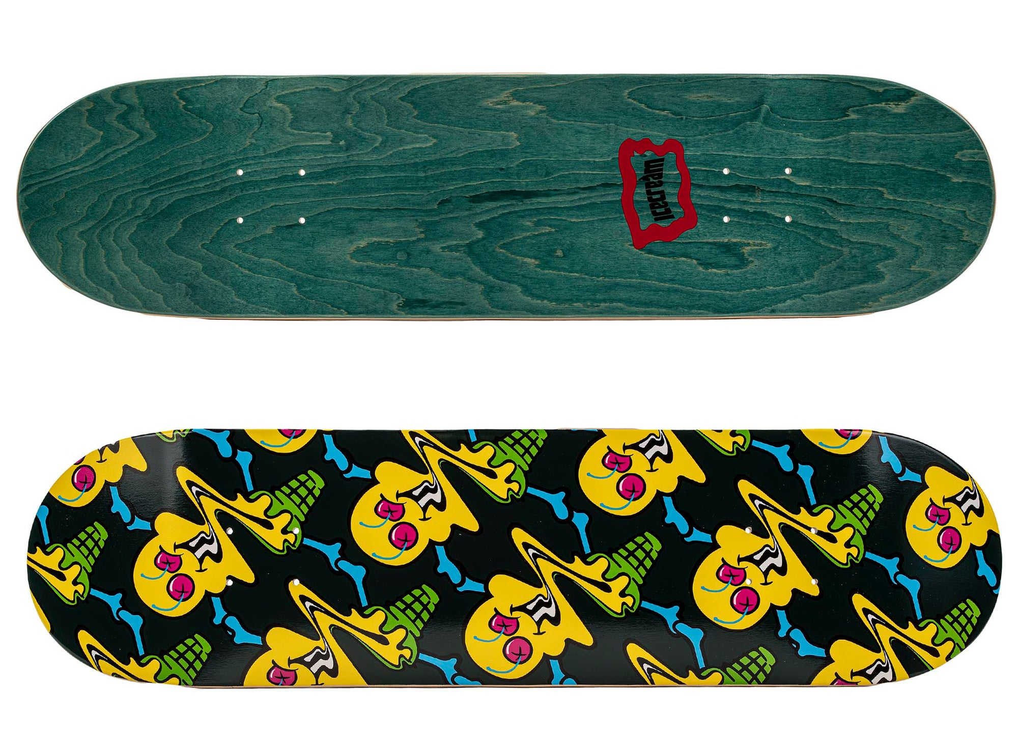 ICE CREAM Woah Skate Deck 'Mallard Green'