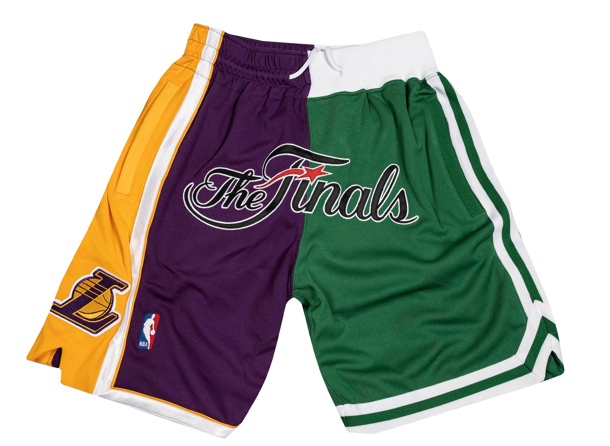 Mitchell and Ness x JUST DON  NBA FINALS LAKERS CELTICS 2008