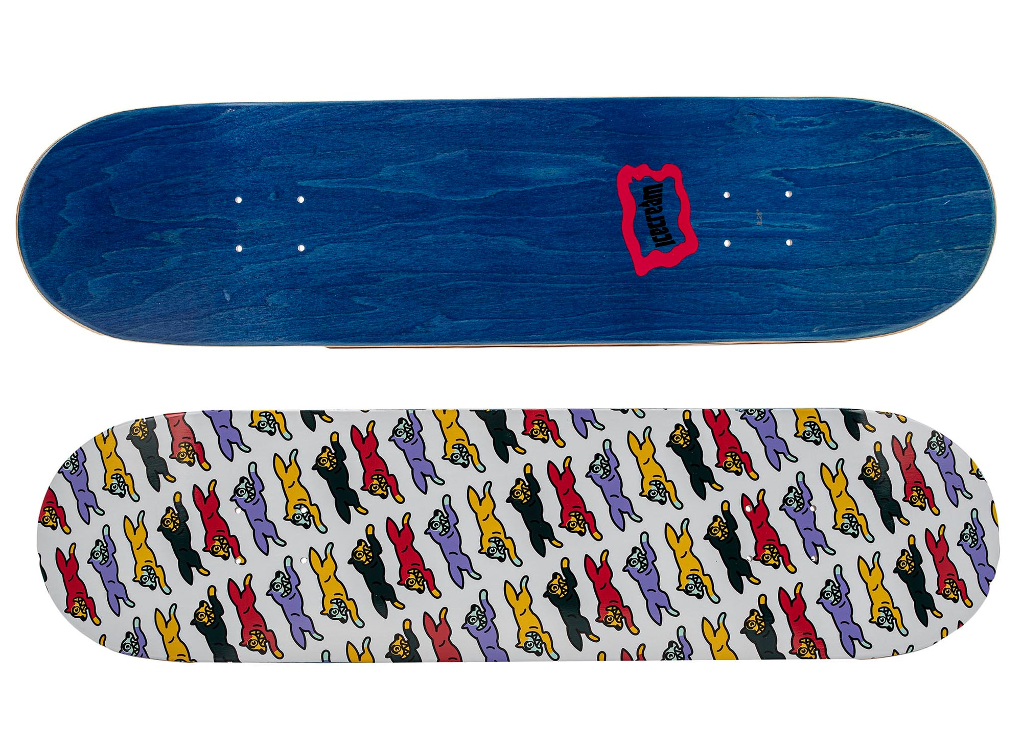 Ice Cream Dog Skate Deck